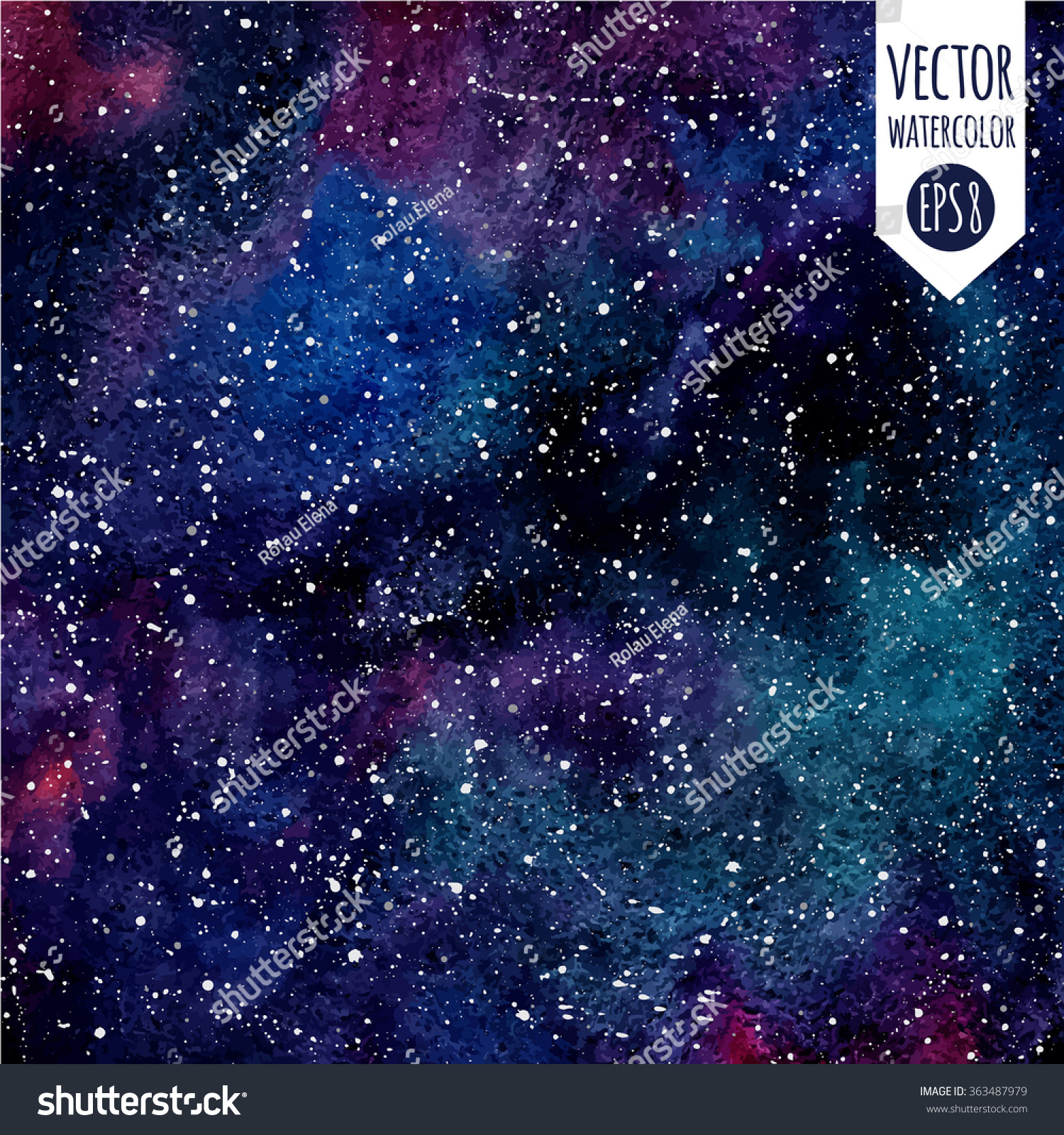 colorful stars background galaxy - photo #8