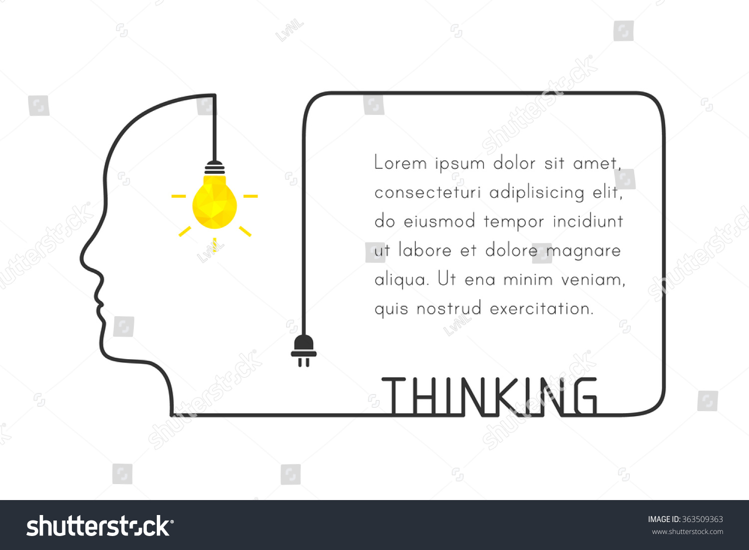 Creative Box Text Wiring Diagrams Download Tinycad 300x216 The Open Source Schematic Thinking Concept Human Stock Vector Royalty Free Rh Shutterstock Com Border Powerpoint