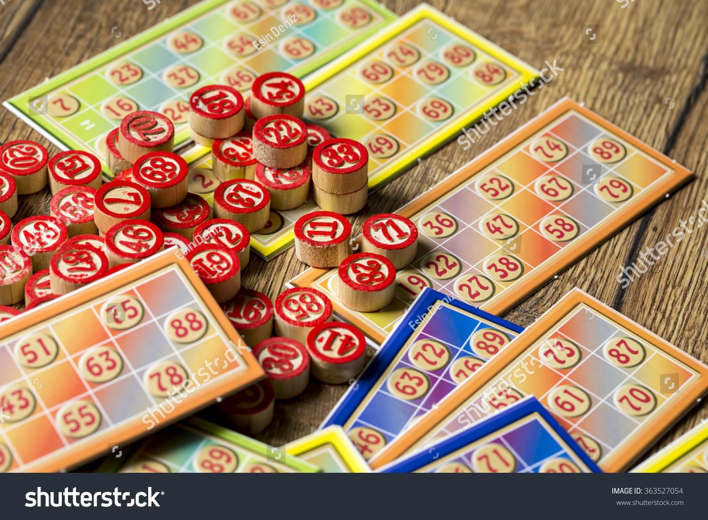 Bingo Tombola Stock Photo 363527054 : Shutterstock  Bingo Tombola S...