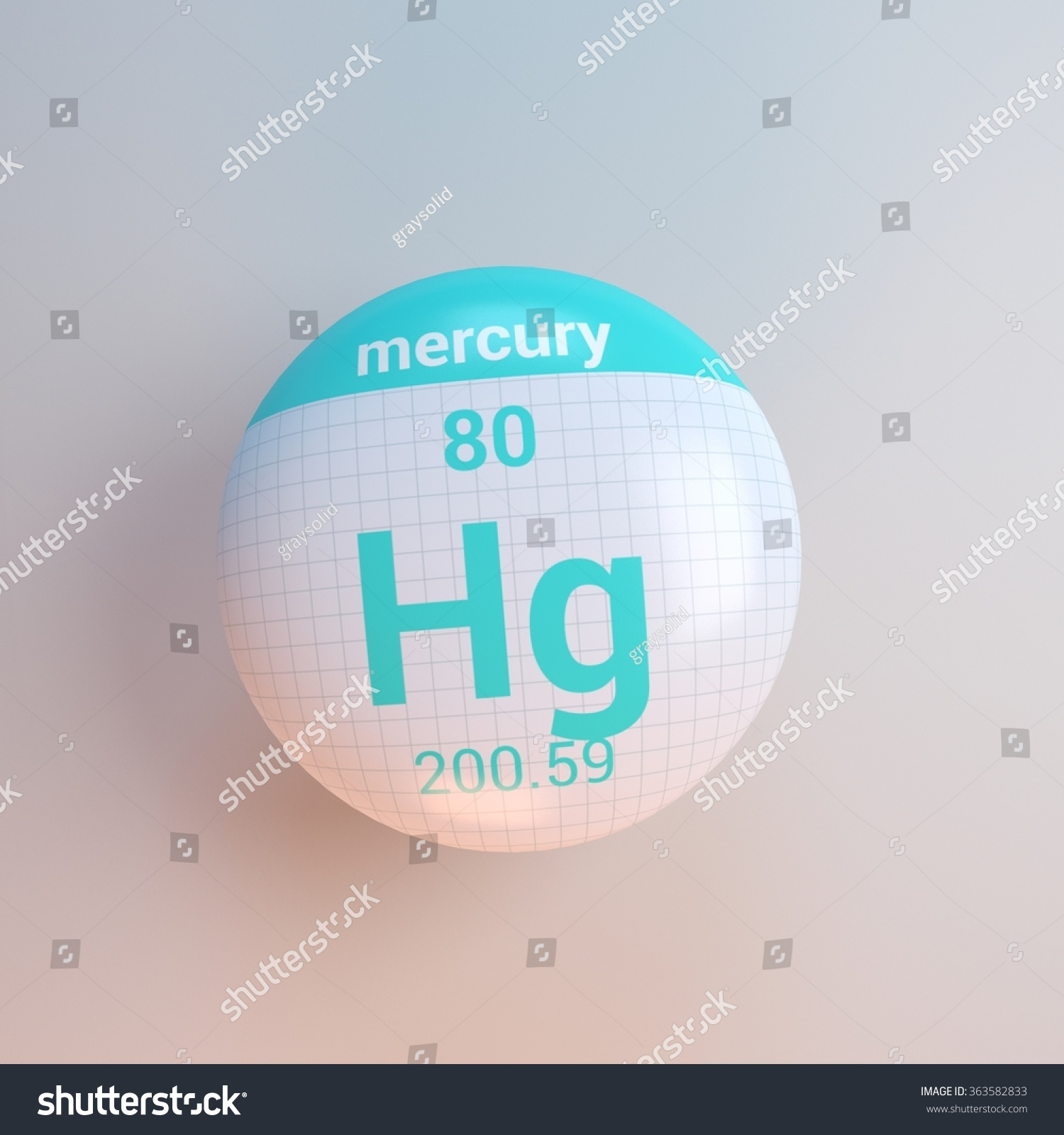 Periodic table elements mercury stock illustration 363582833 periodic table of elements mercury urtaz Image collections