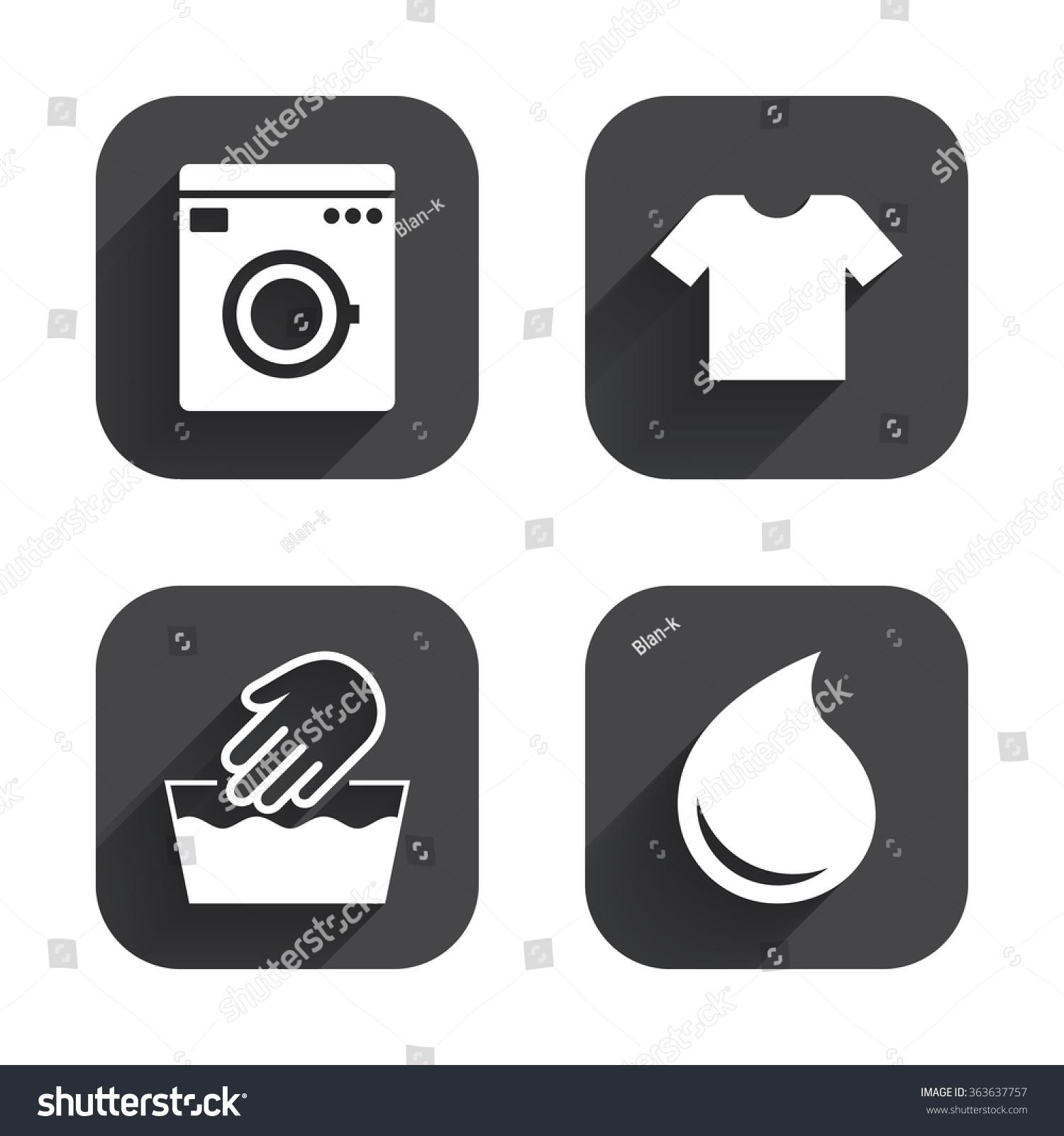 Wash machine icon hand wash tshirt stock illustration 363637757 wash machine icon hand wash t shirt clothes symbol laundry washhouse and buycottarizona Image collections