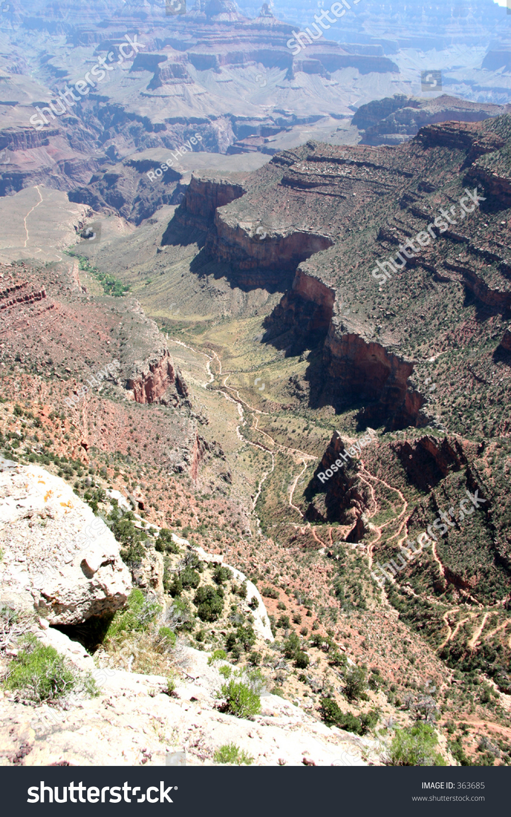 how to get to the bottom of the grand canyon