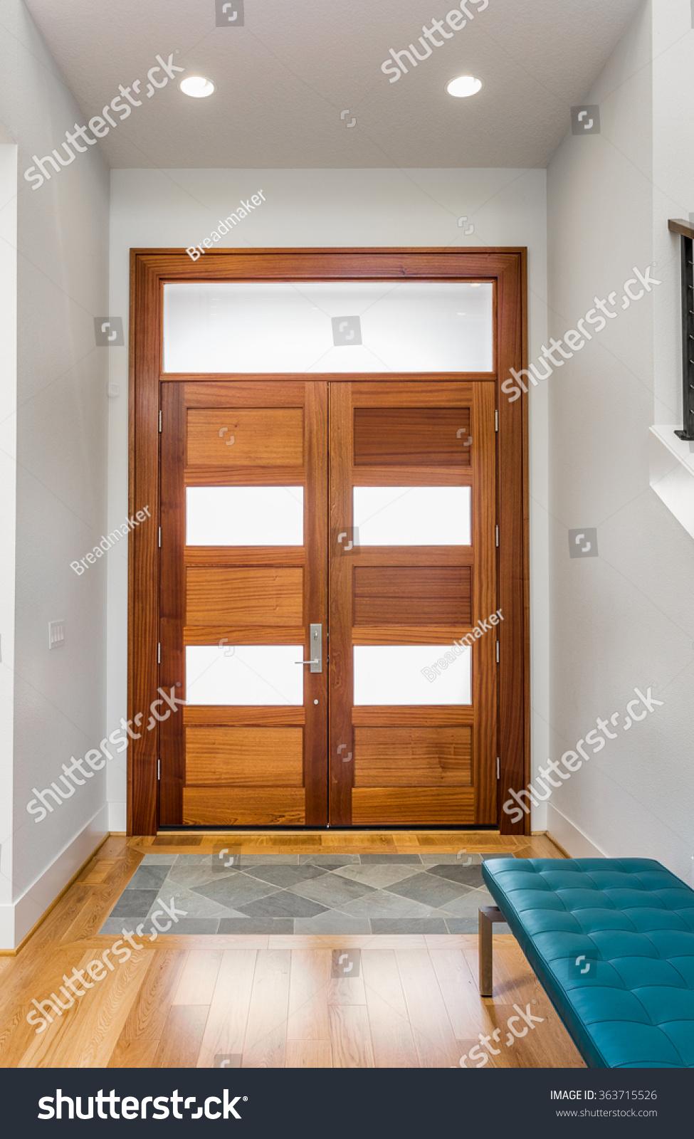 Luxury Homes Foyer entryway foyer inside new luxury home stock photo 363715526