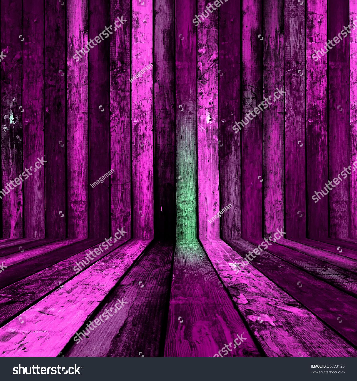 Magic Dark Pink Room Stock Photo 36373126 Shutterstock