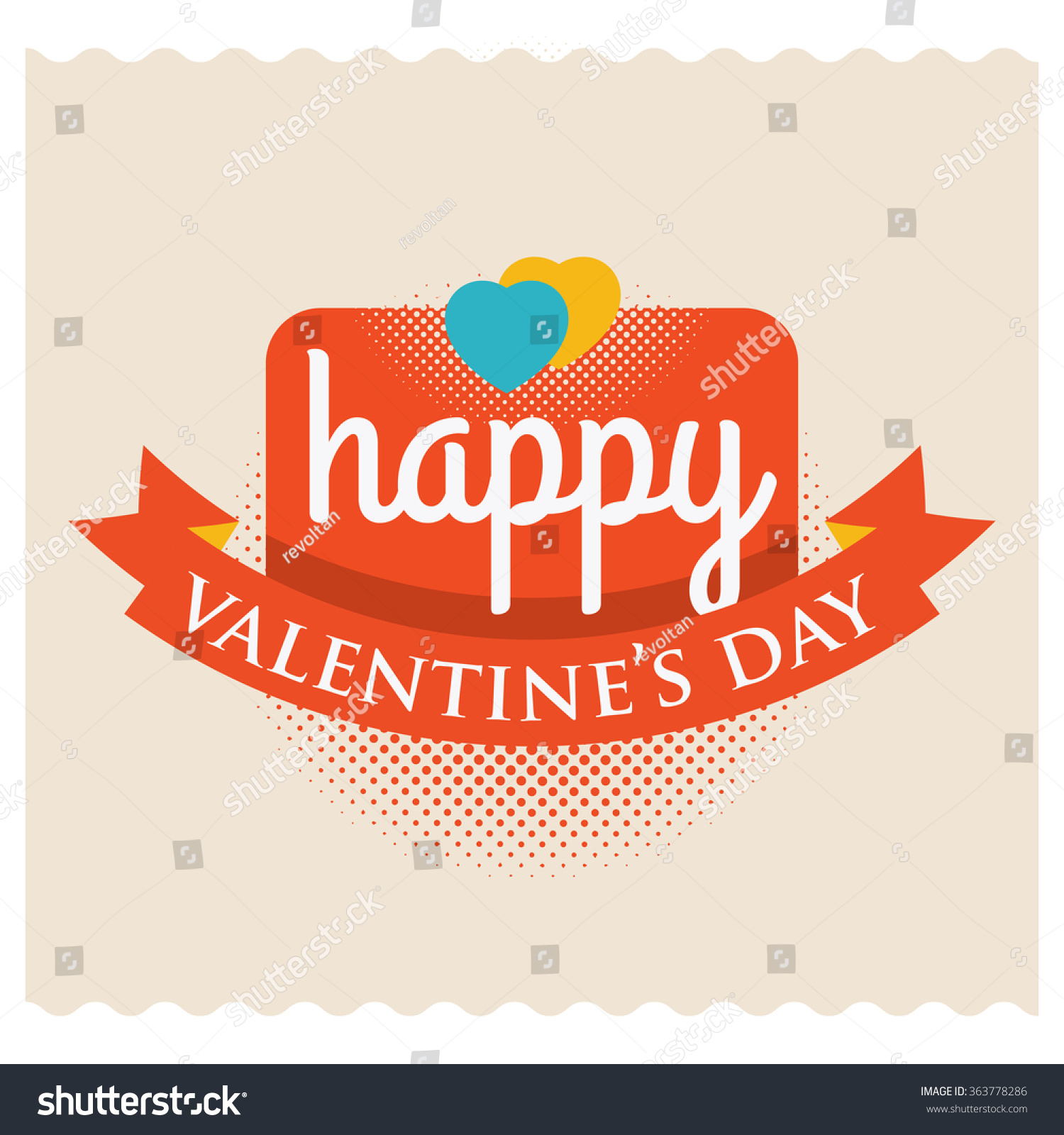 Happy valentine valentine greeting words stock vector 363778286 valentine greeting words kristyandbryce Images
