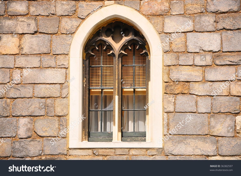 Castle Window Stock Photo 36382597 - Shutterstock