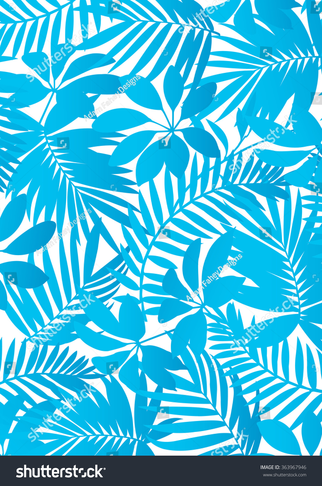background of blue tropical - photo #8