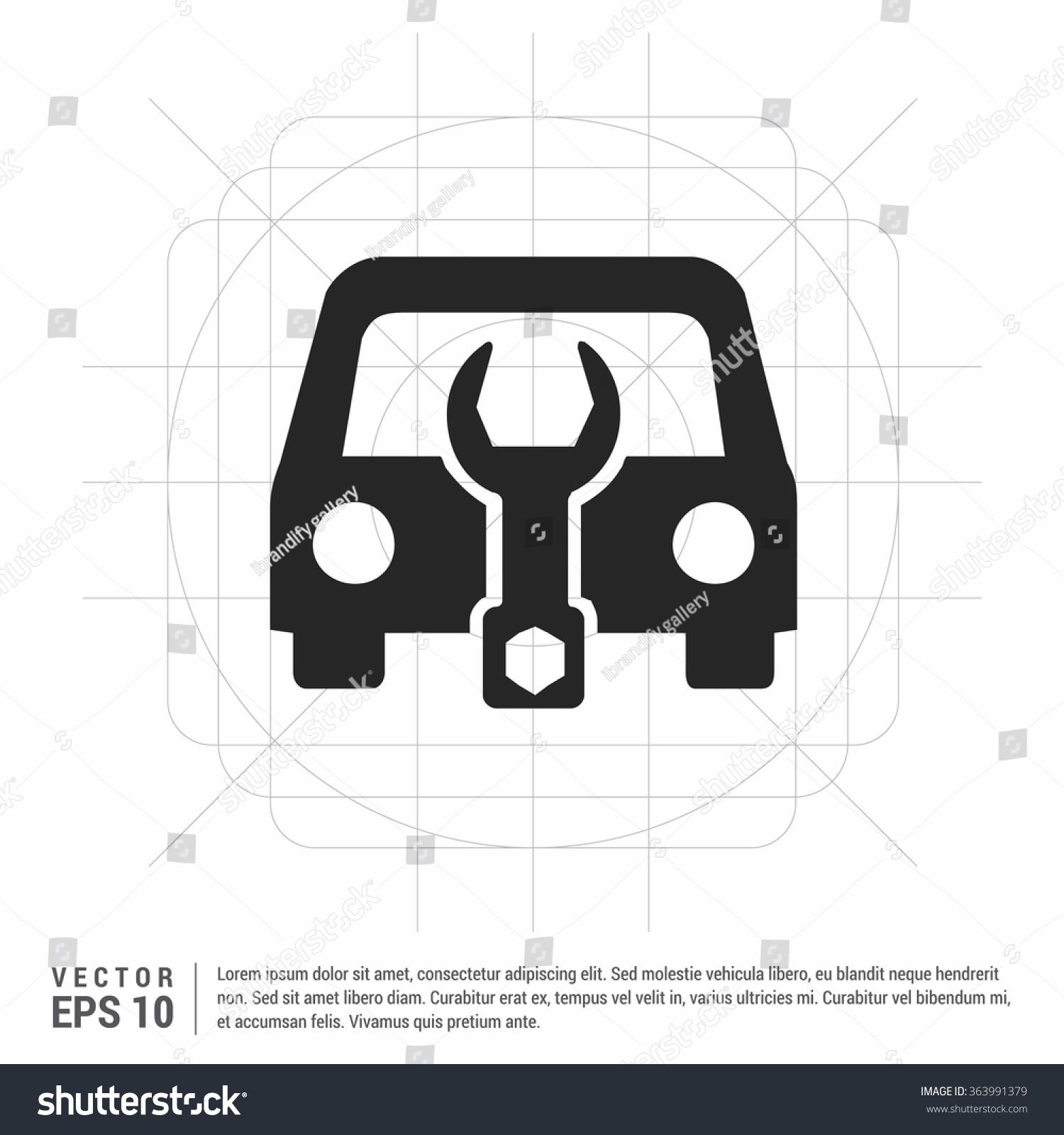 Vector auto workshop icon stock vector 363991379 shutterstock vector auto workshop icon biocorpaavc