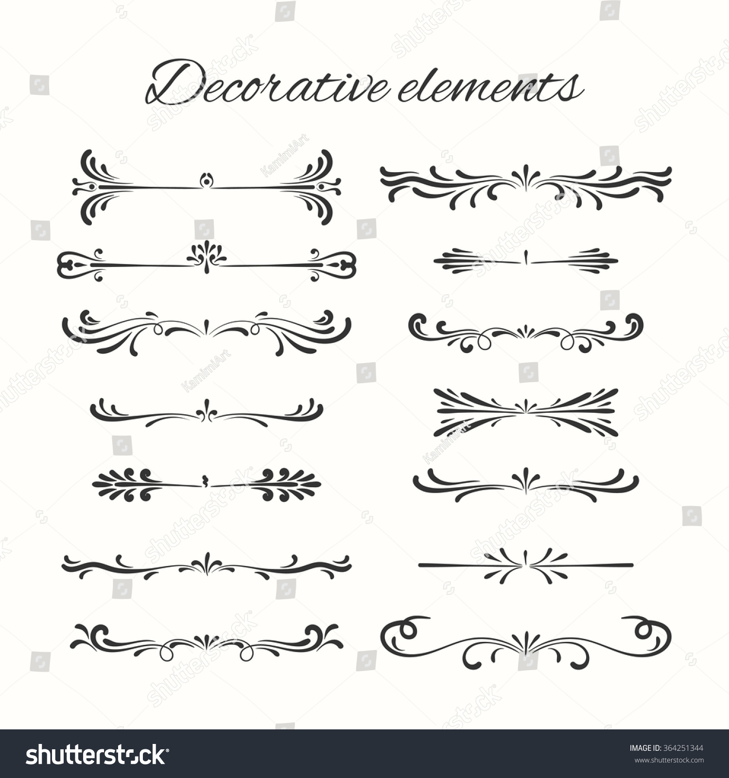 divider set vector - photo #37