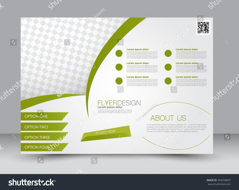 flyer brochure magazine cover template design stock vector flyer brochure magazine cover template design landscape orientation for education presentation website