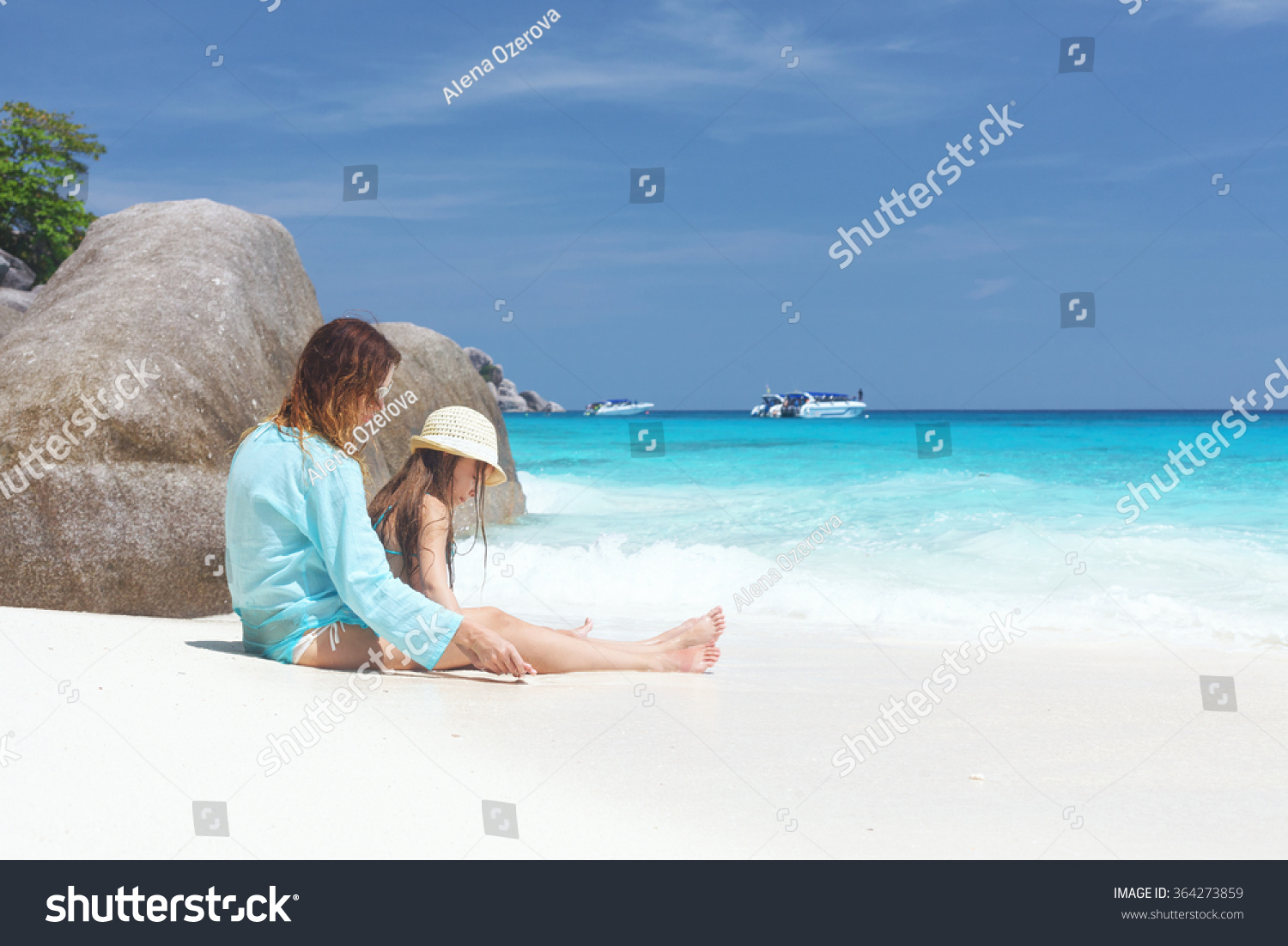 Mother her 8 years old daughter stock photo 364273859 for Mother daughter vacation destinations