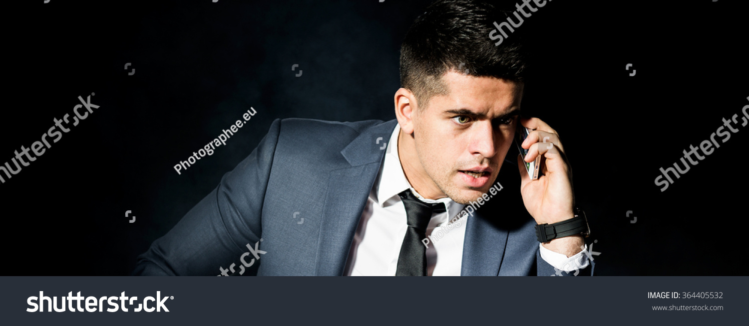 terrible boss is calling to his employee stock photo 364405532 save to a lightbox
