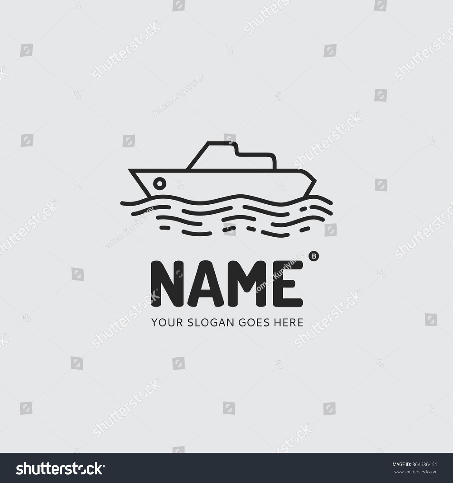Ship logo design vector template symbol stock vector 364686464 ship logo design vector template symbol concept icon buycottarizona