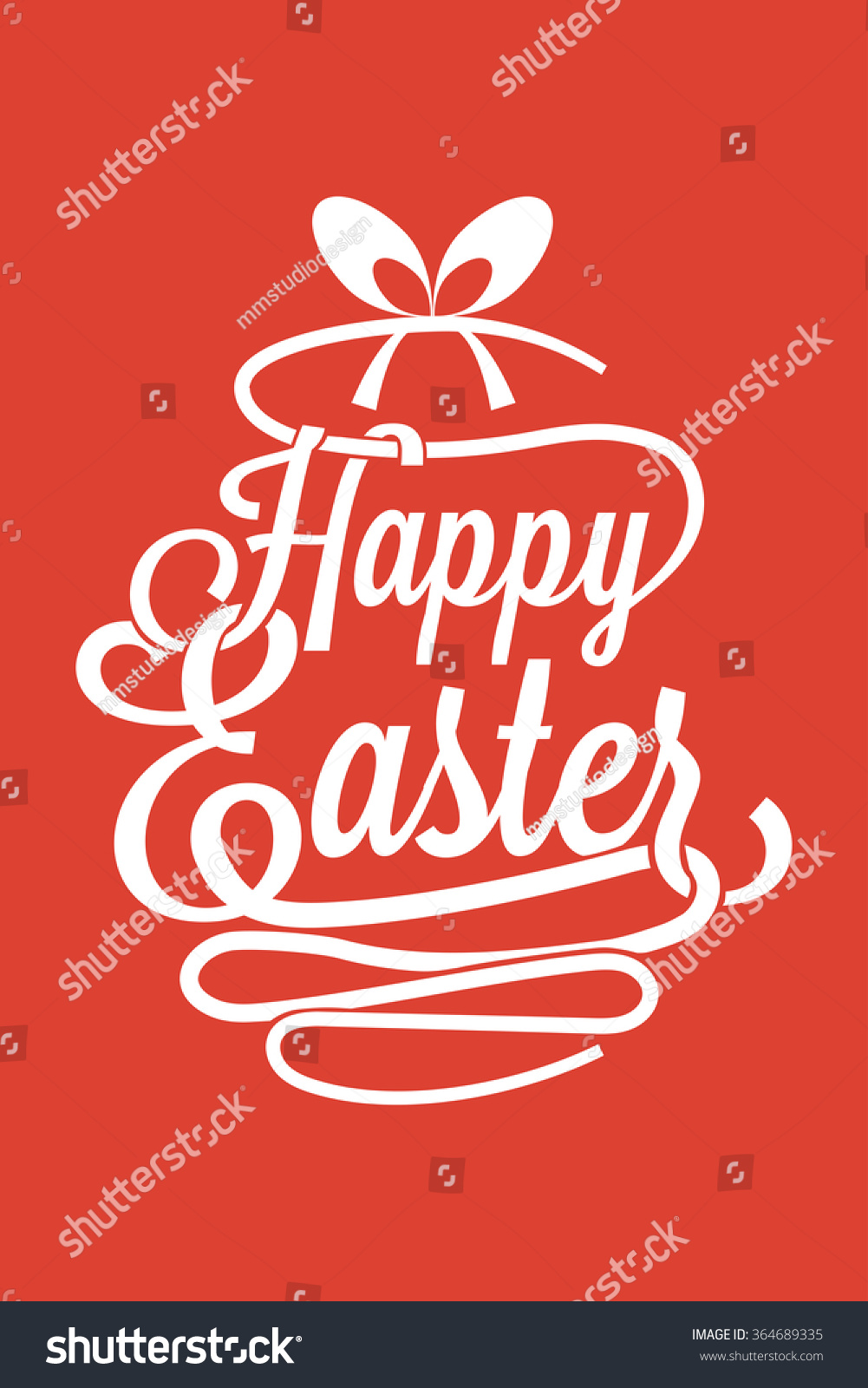 Happy easter greeting card calligraphic words stock vector 364689335 happy easter greeting card with calligraphic words and egg m4hsunfo