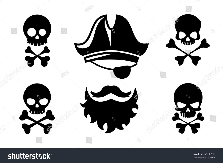 Pirate Beard Clipart