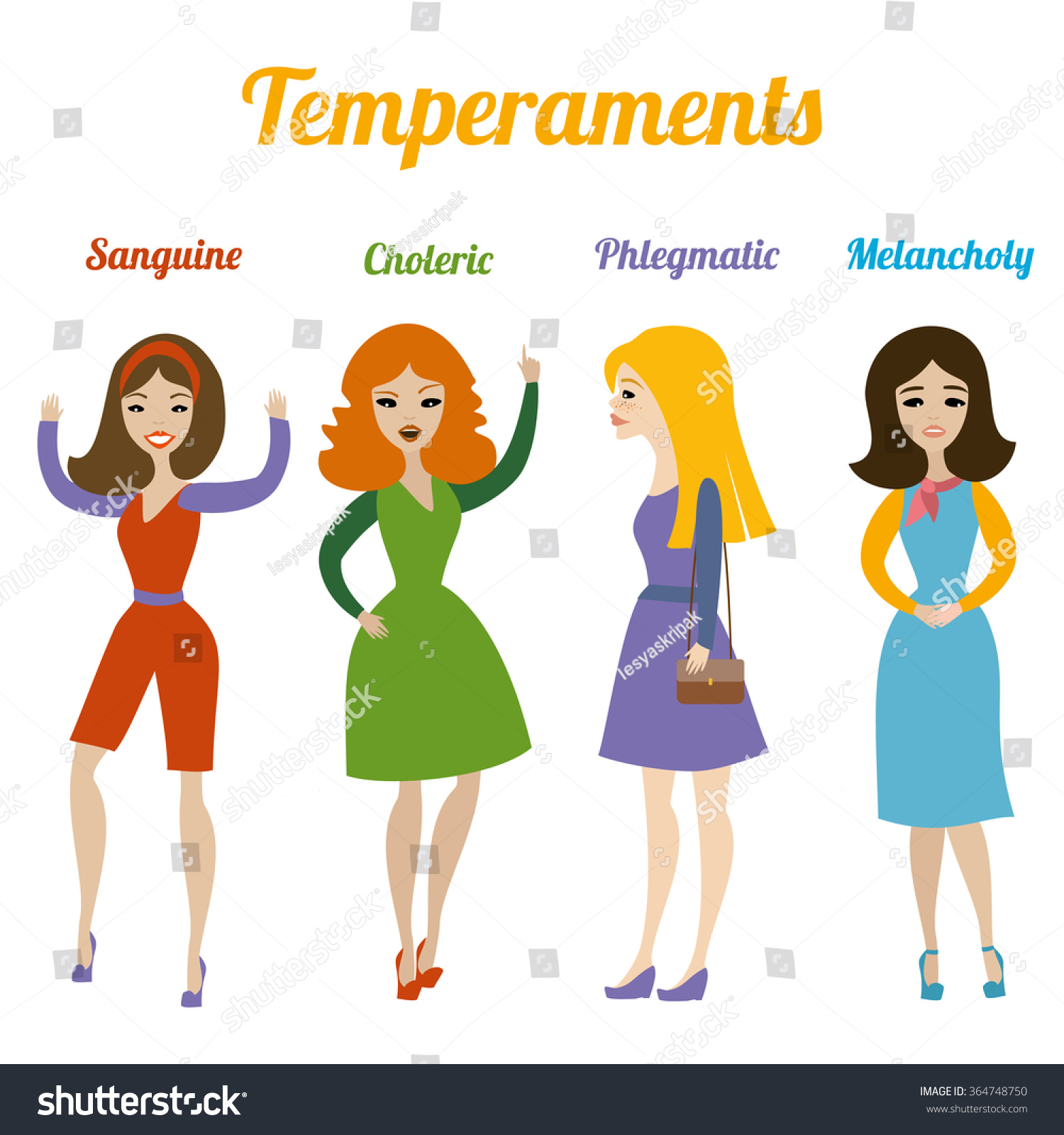 Sanguine phlegmatic temperament