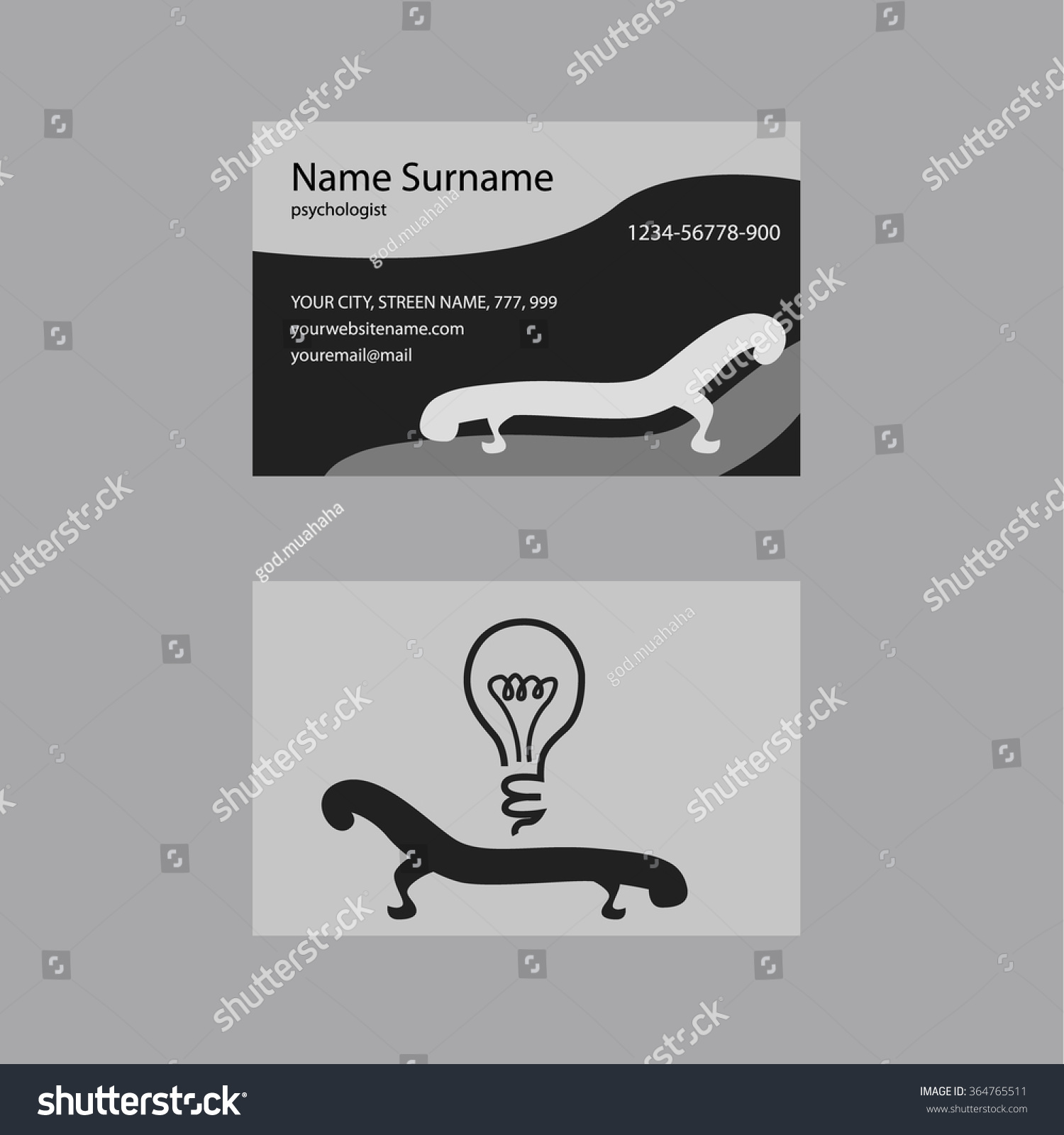Beautiful Psychiatrist Business Cards Gallery - Business Card ...