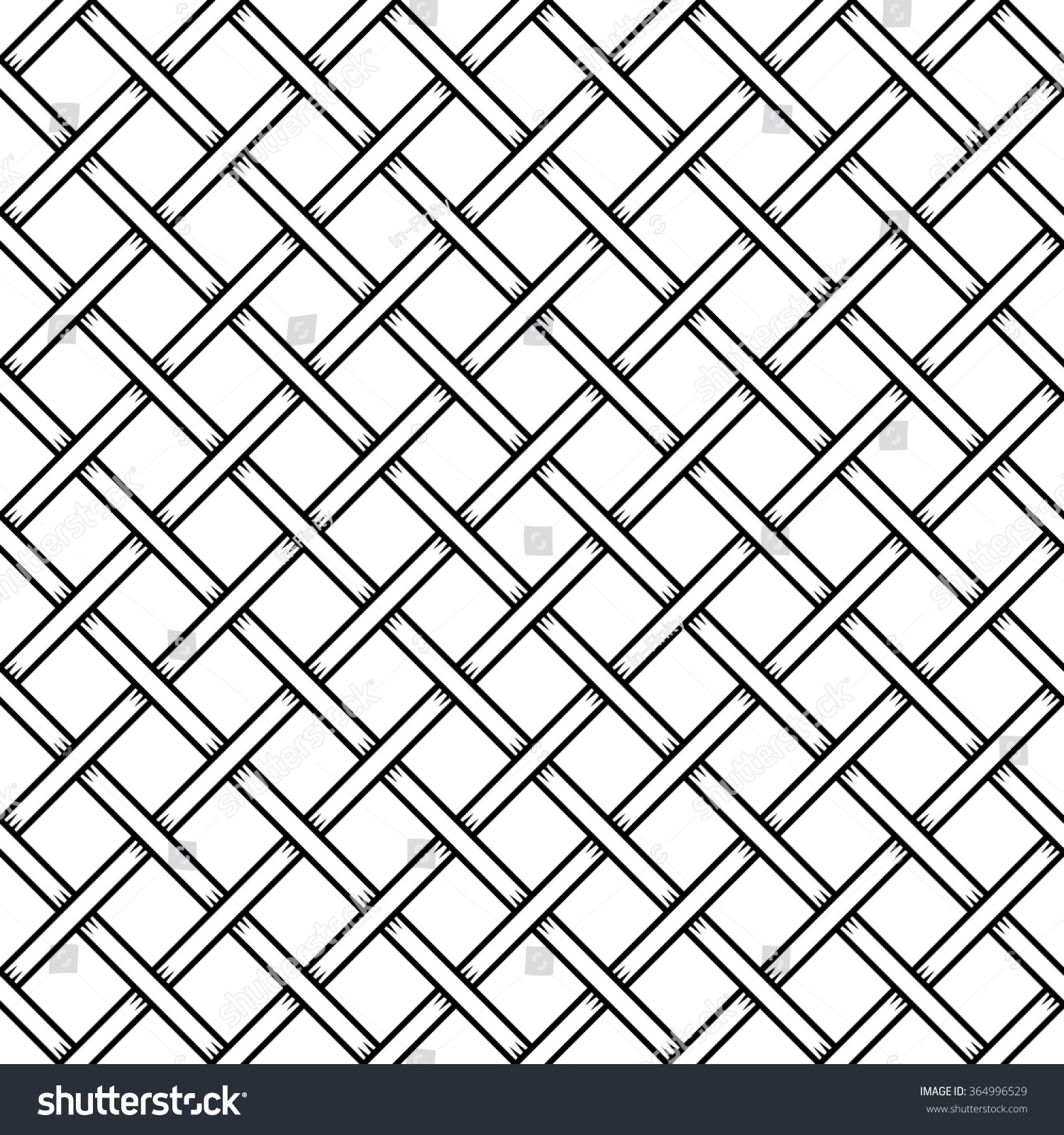Seamless Cage Texture Wire Mesh Vector Stock Vector (2018) 364996529 ...