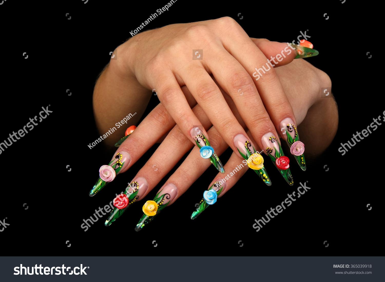 Дизайн ногтей как правильно
