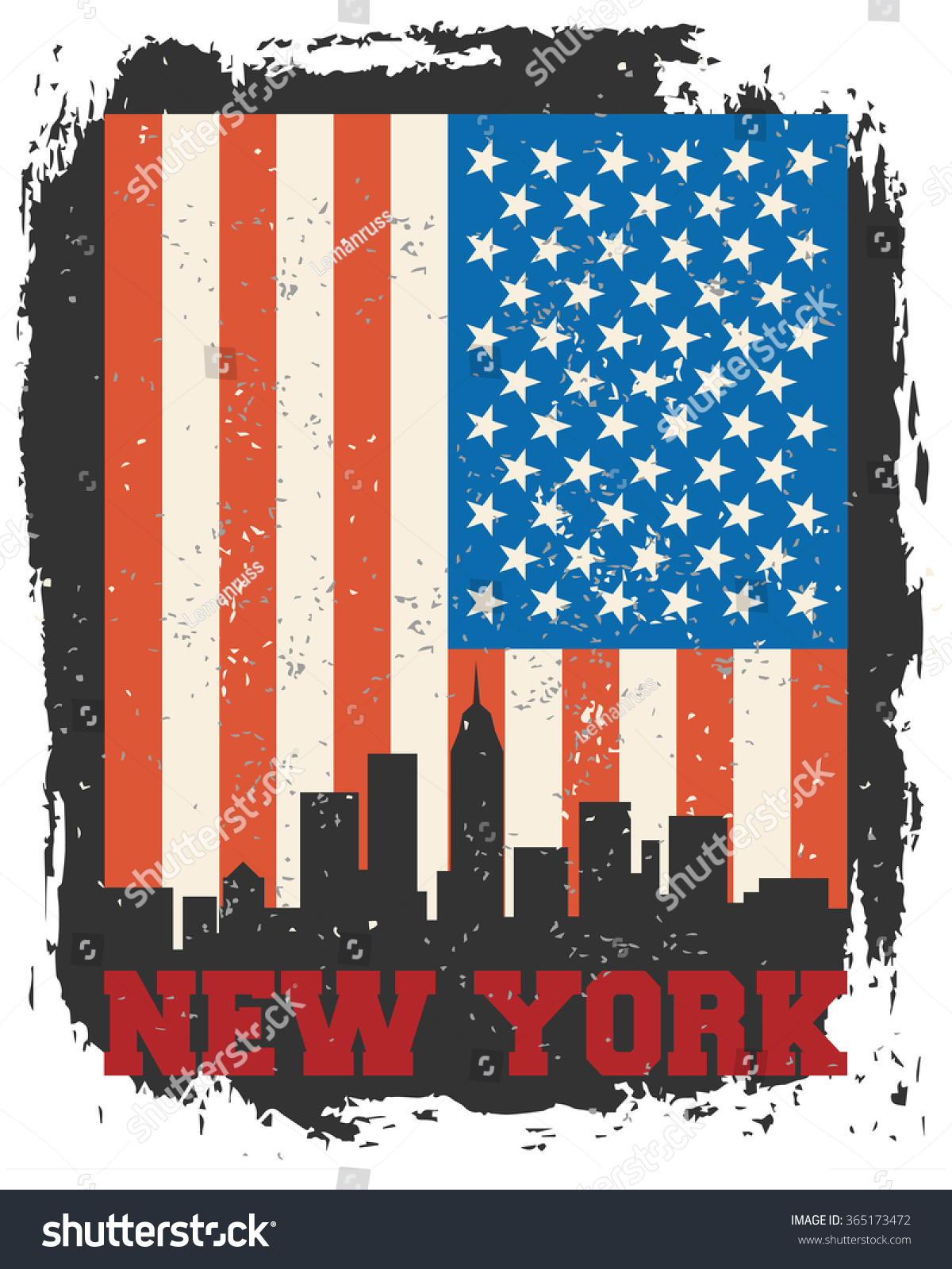 Poster design new york - New York City Concept Logo Label T Shirt Design Nyc