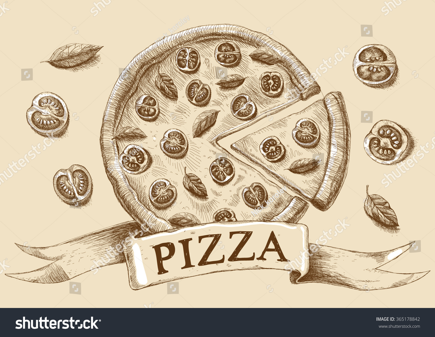 Uncategorized Drawing Pizza drawing pizza pizzeria pencil sketch stock illustration 365178842 sketch