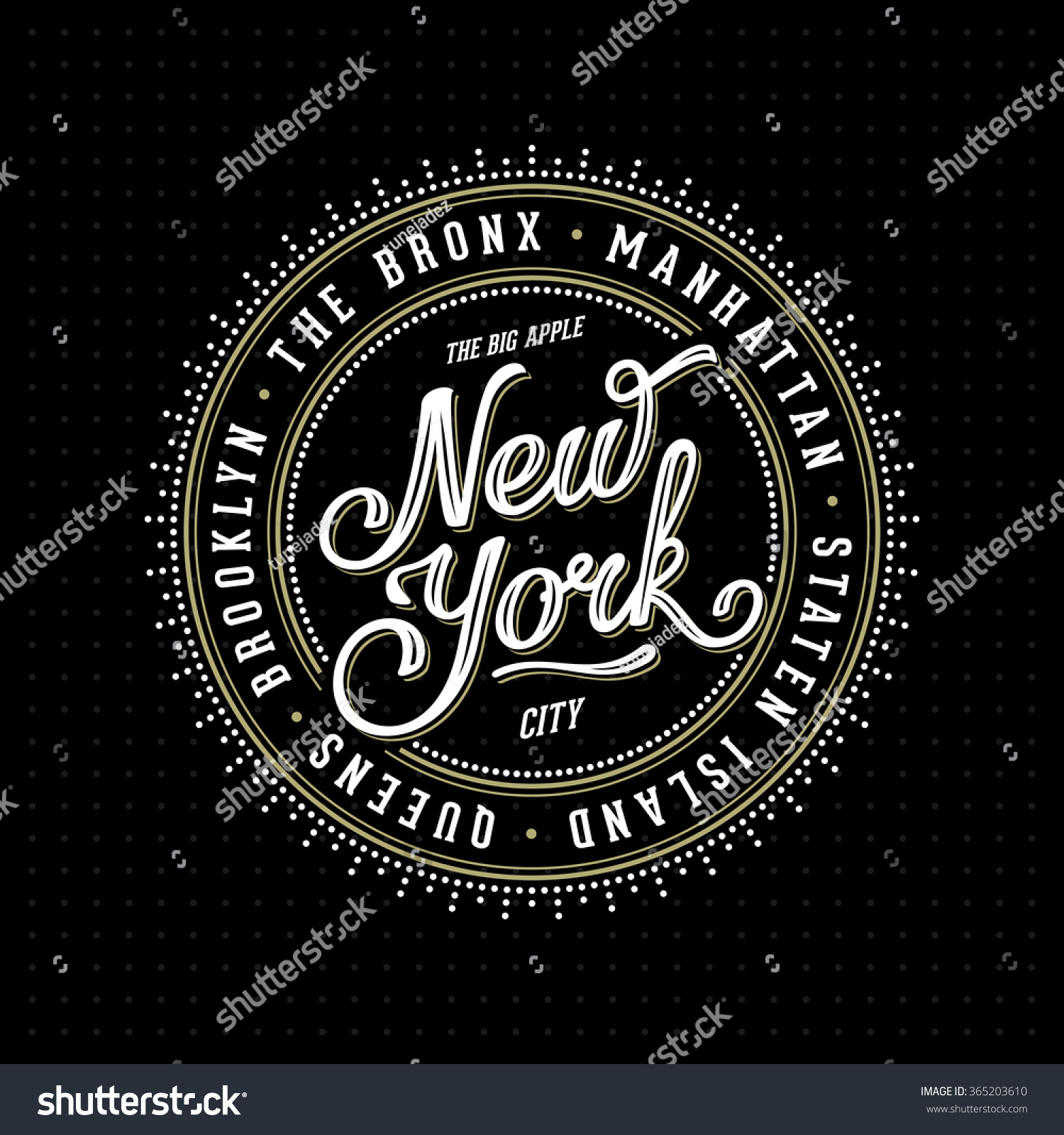 T shirt design queens ny - Vintage Hipster Frame With Lettering New York City Brooklyn Manhattan Queens