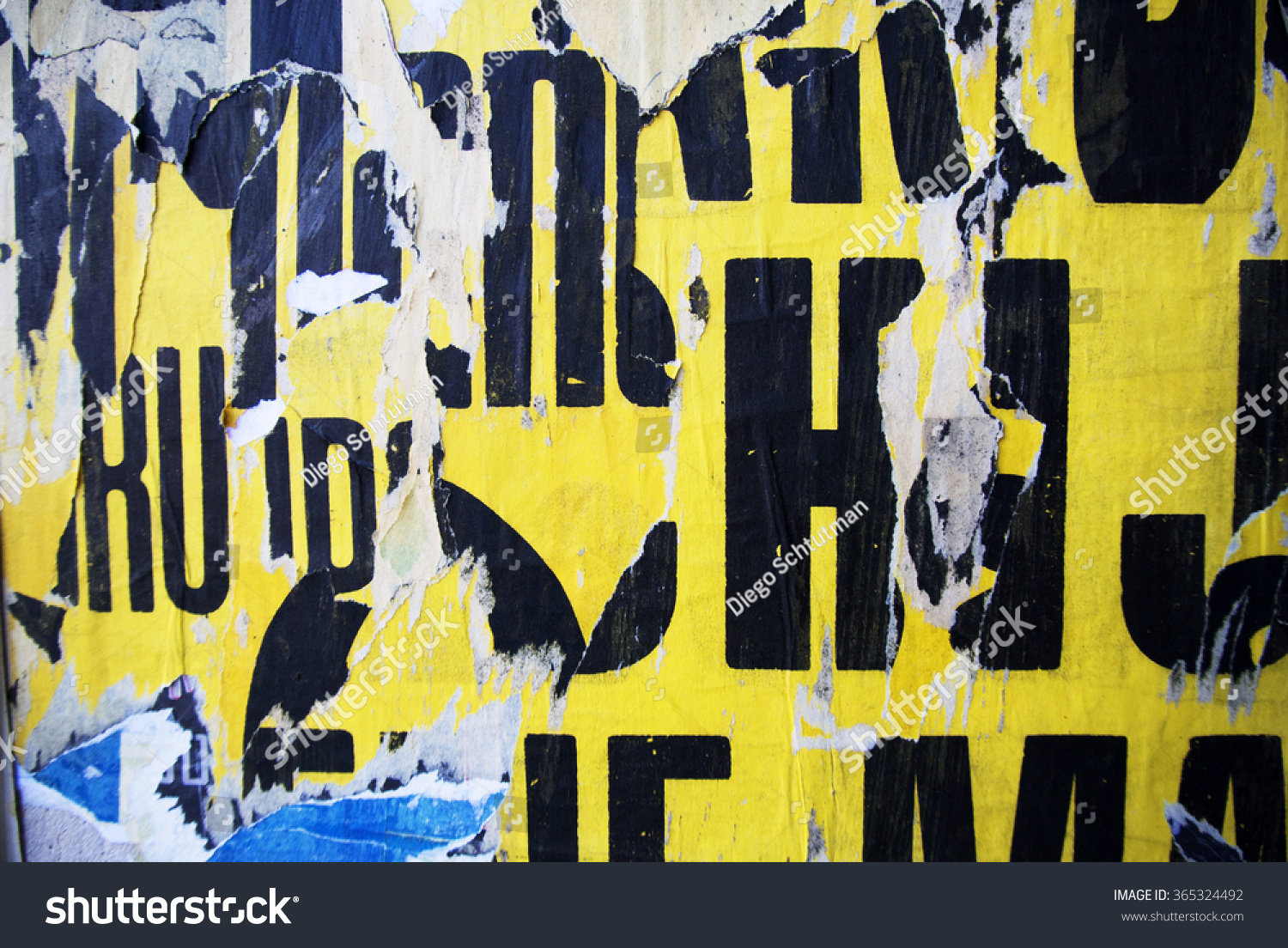 Photo of urban collage background or typography texture   EZ Canvas
