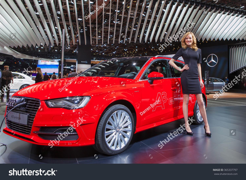Detroit January 12 Audi A 3 E Tron Stock Photo Edit Now 365337797
