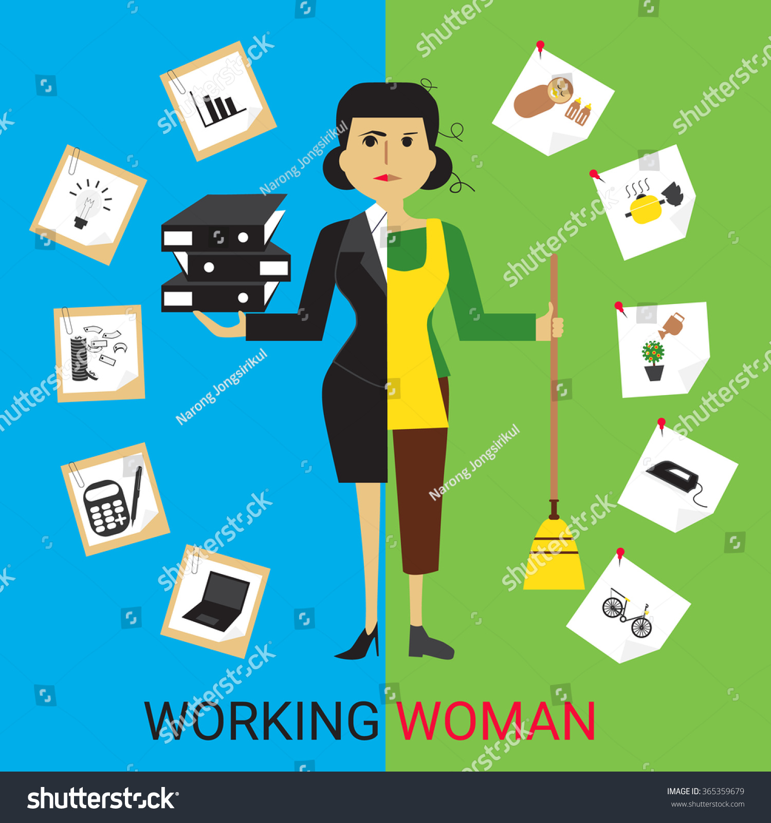 Image result for working housewife
