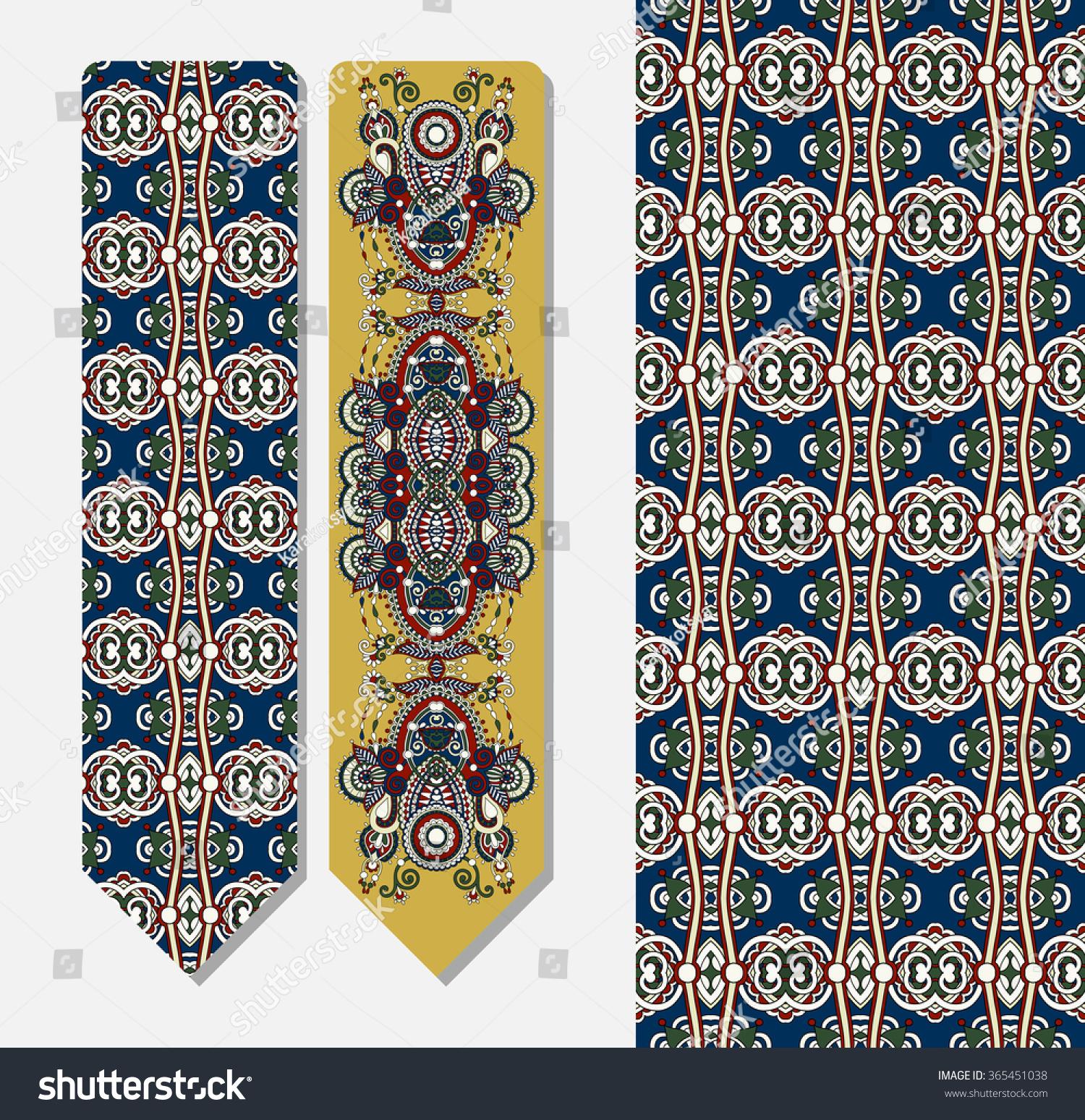 Floral Decorative Ethnic Paisley Bookmark Printing Stock ...