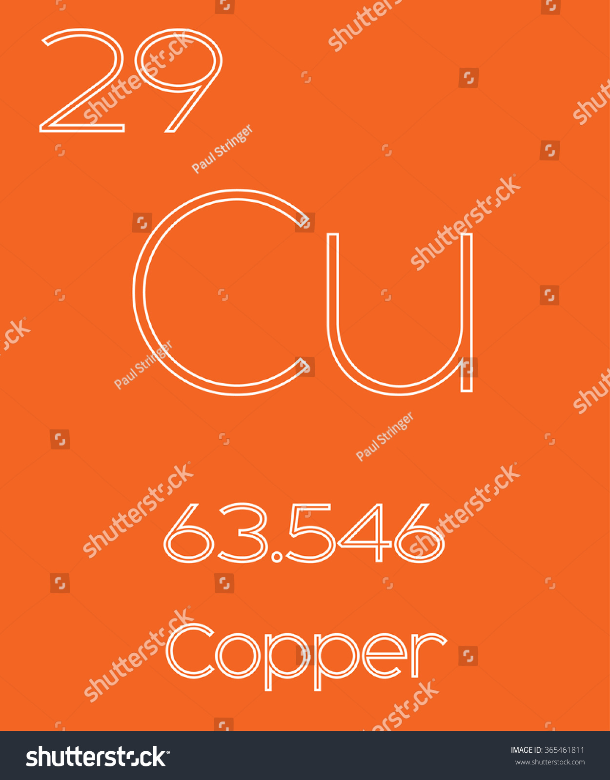 Informative illustration periodic element copper stock vector an informative illustration of the periodic element copper buycottarizona Image collections