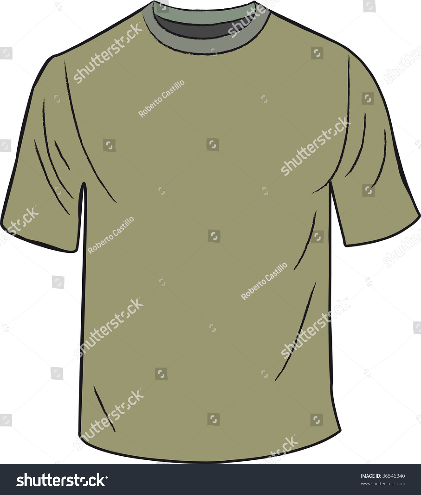 Green tshirt design template stock vector 36546340 for Typography t shirt design template