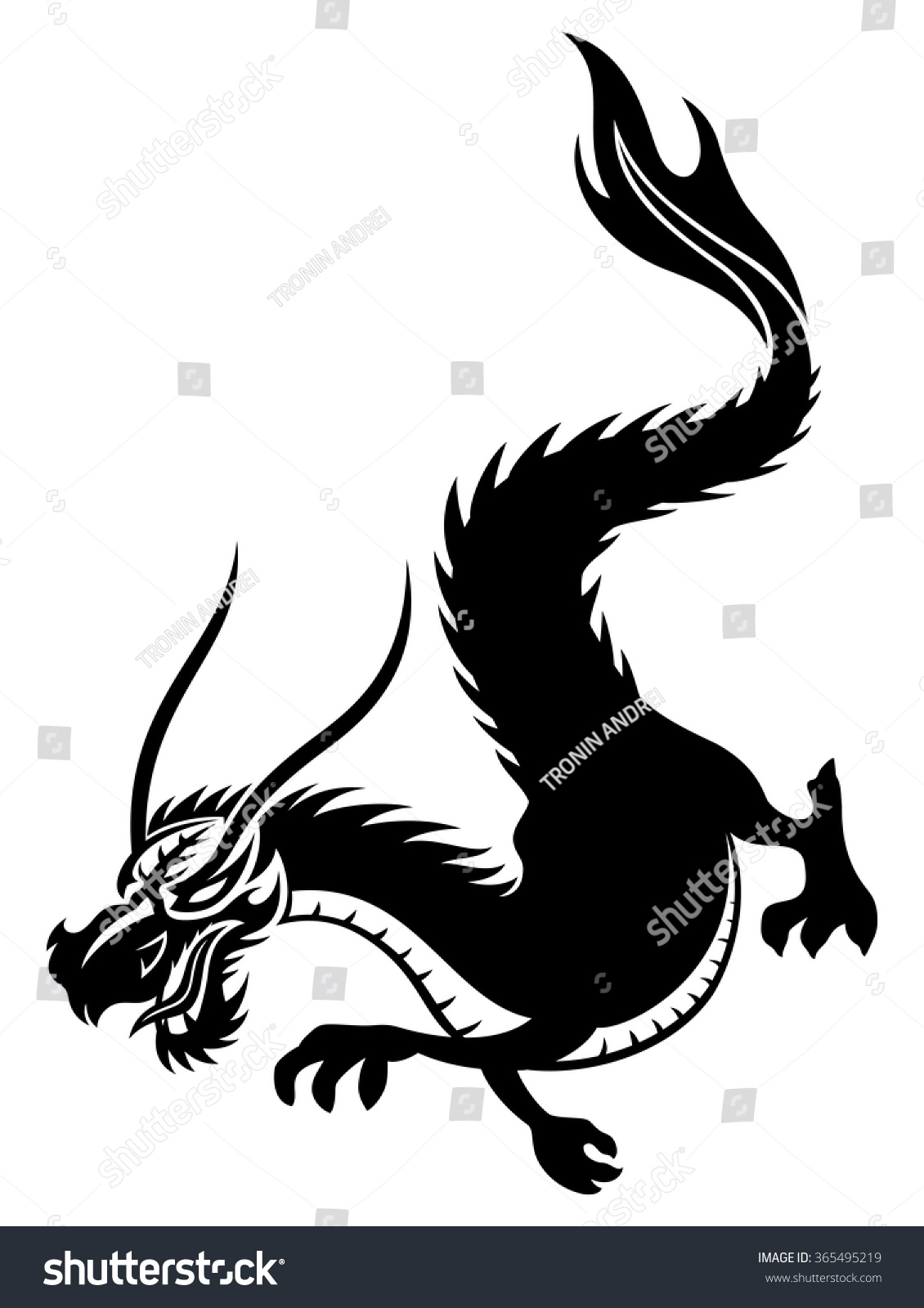 Dragon vector sign stock vector 313643336 shutterstock - Dragon Vector Sign Stock Vector 313643336 Shutterstock Vector Illustration The Sign Of The Dragon On