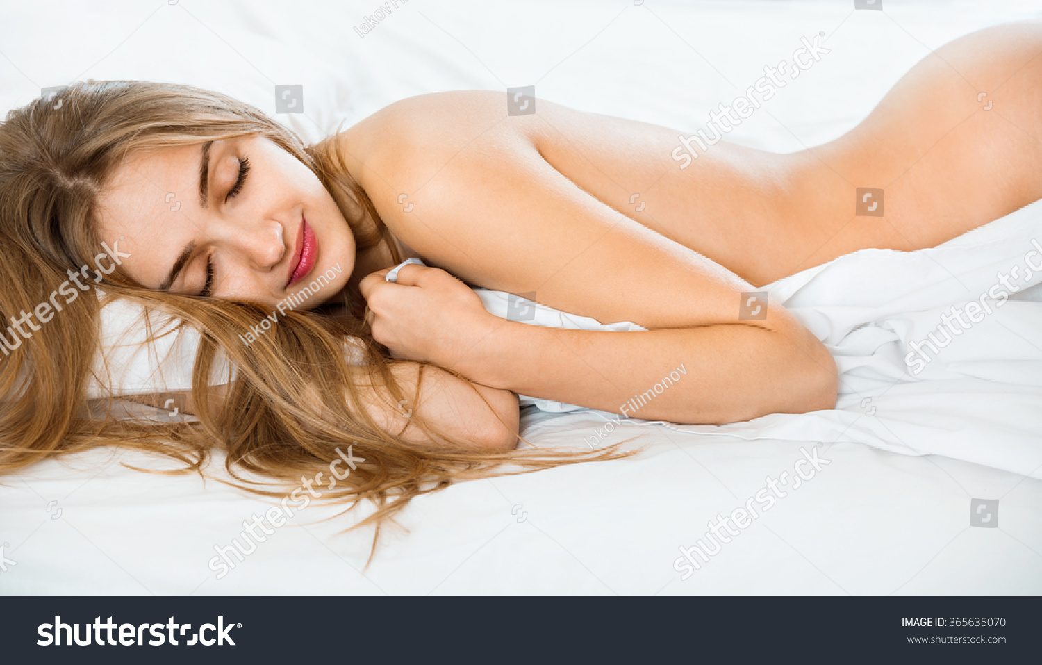 woman sleeping in bed porn