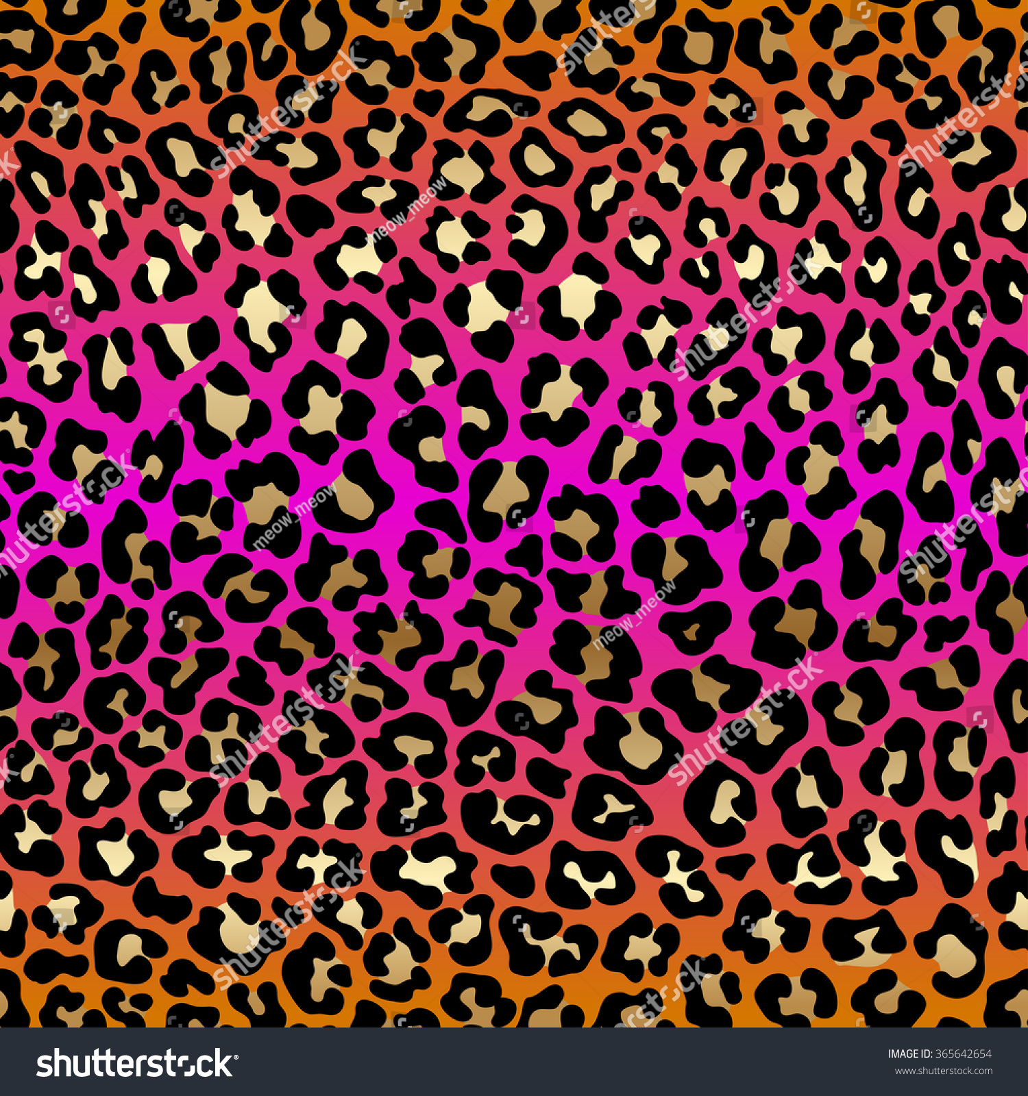 Colorful cheetah print backgrounds for twitter