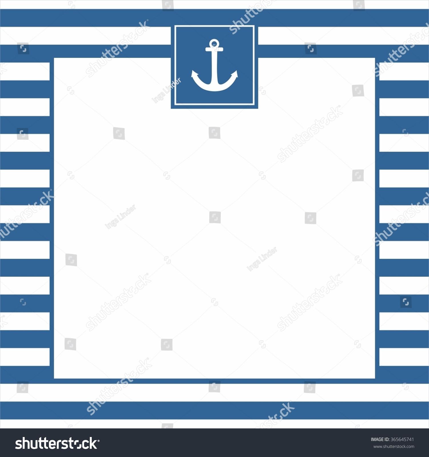 Nautical Wedding Invitation Template with good invitations sample