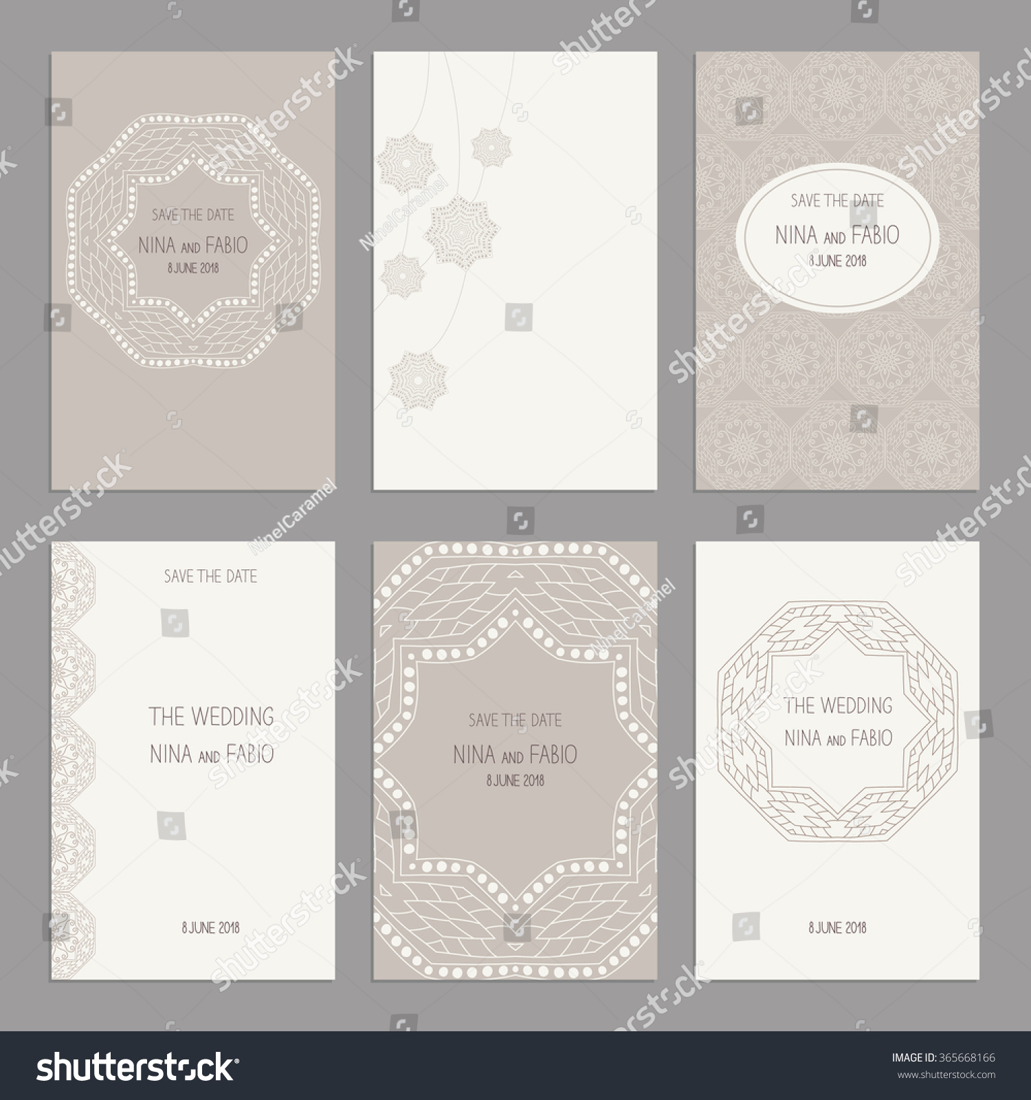 Templates Greeting Business Cards Brochures Covers Stock Vector ...