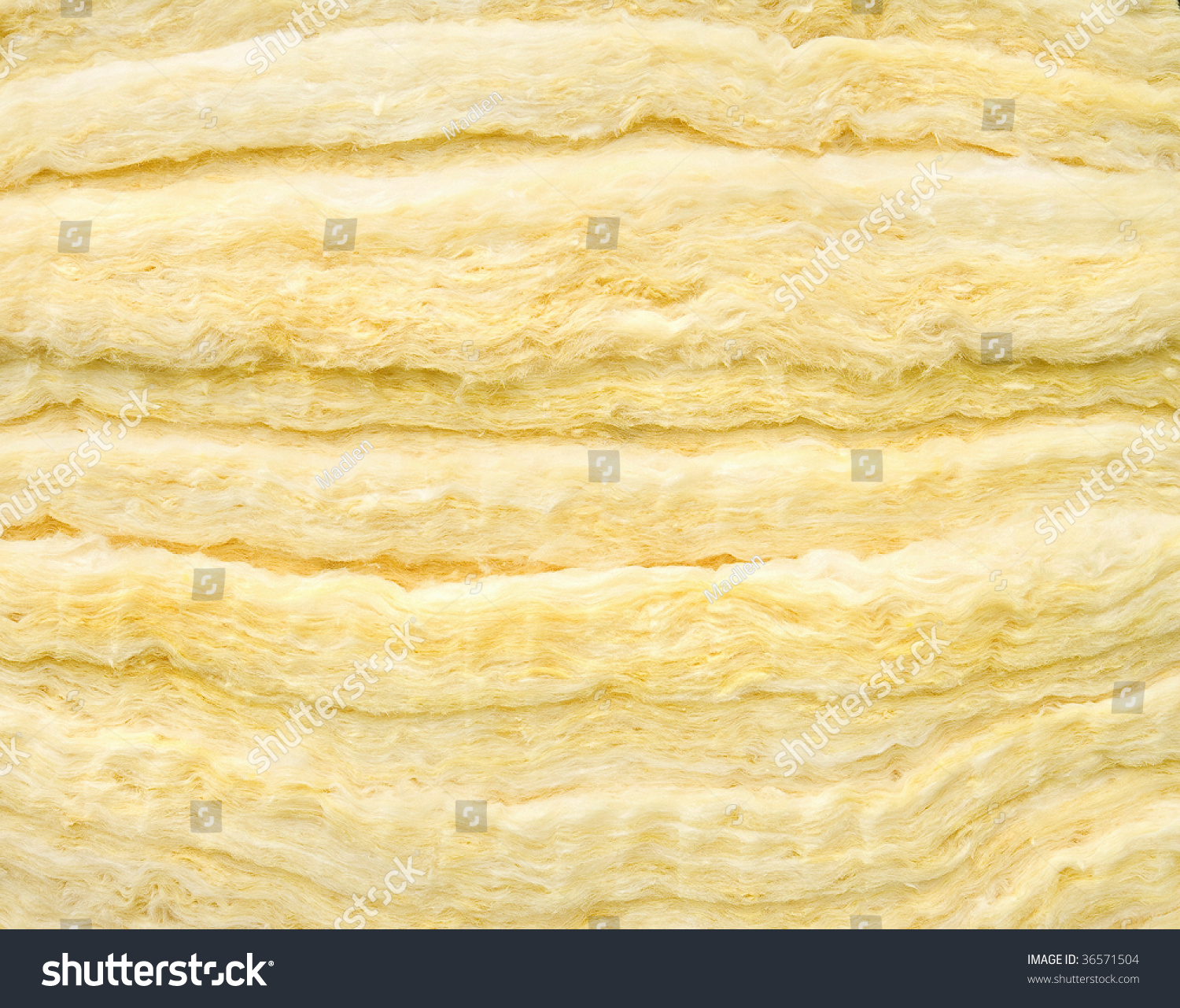 Material of glass wool insulation sheet close up stock for Glass wool insulation