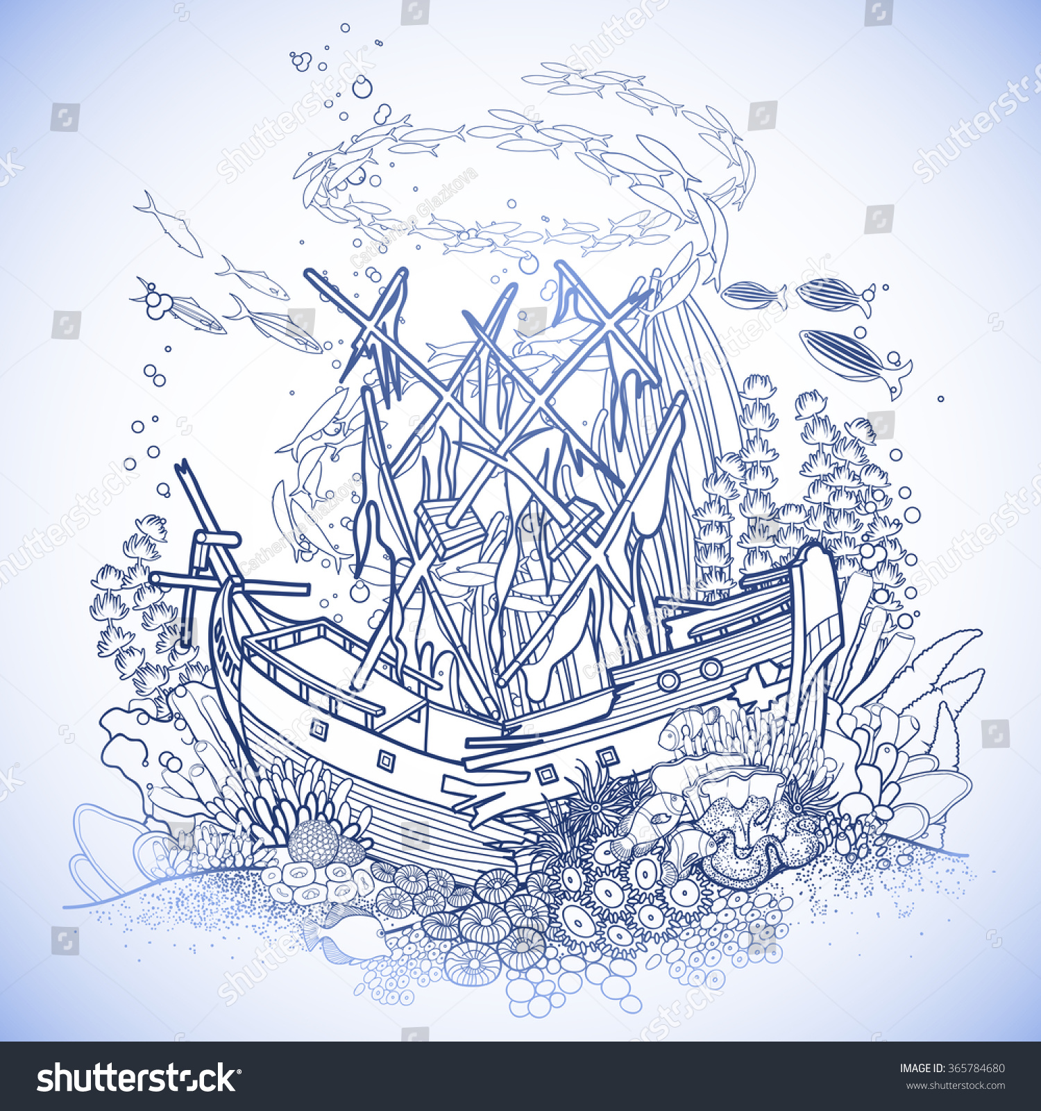 sunken pirate ship drawings wwwimgkidcom the image