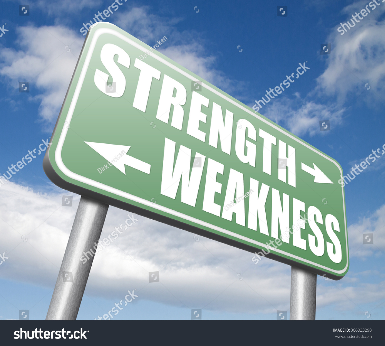 strength weakness strong weak points overcome stock illustration strength or weakness strong or weak points overcome problems accept the challenge to success