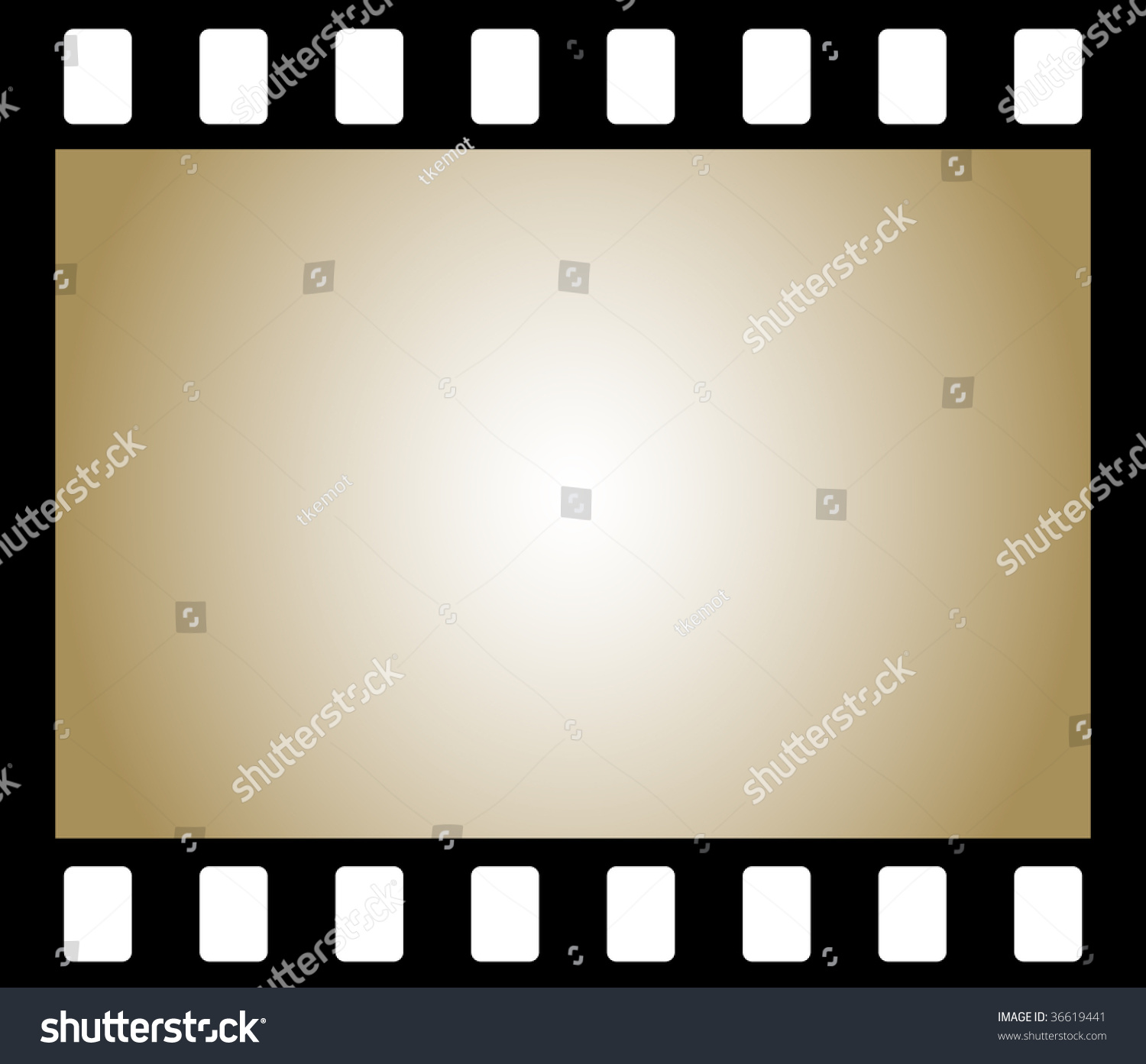 Frame Old Negative Photo Film Background Stock ...