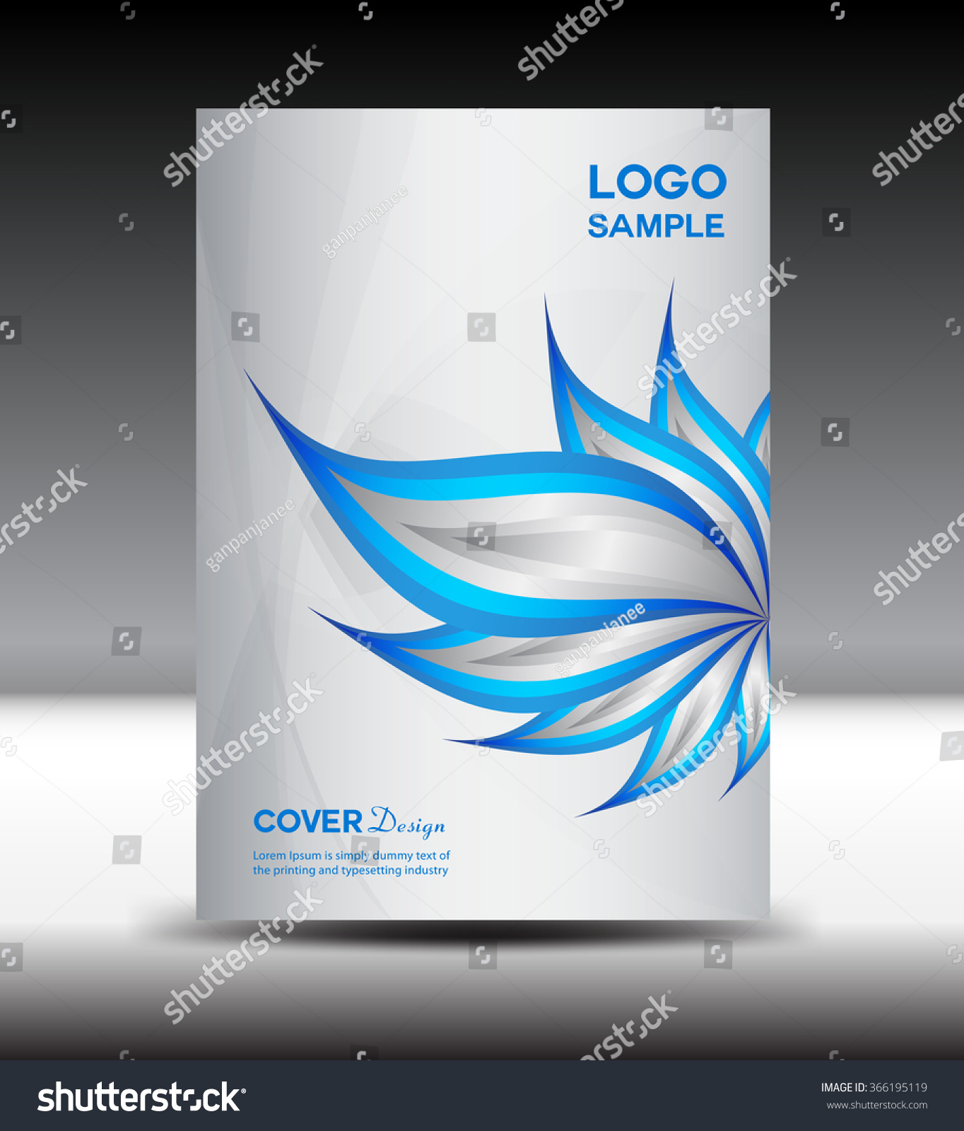 vector brochure white cover design vector stock vector  vector brochure white cover design vector illustration cover annual report layout template page magazine flyer design