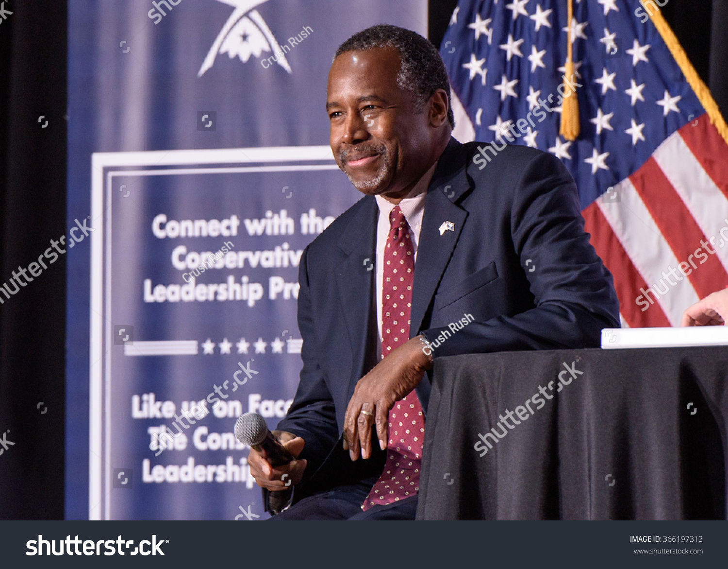 January 18 2016 Columbia S.C Presidential candidate Ben Carson speaking at the Conservative Leadership Project Presidential Forum hosted by Attorney General Alan Wilson SC