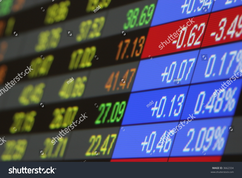 Real Time Stock Quotes Stock Quotes Real Time Quotes Stock Stock Photo 3662334  Shutterstock