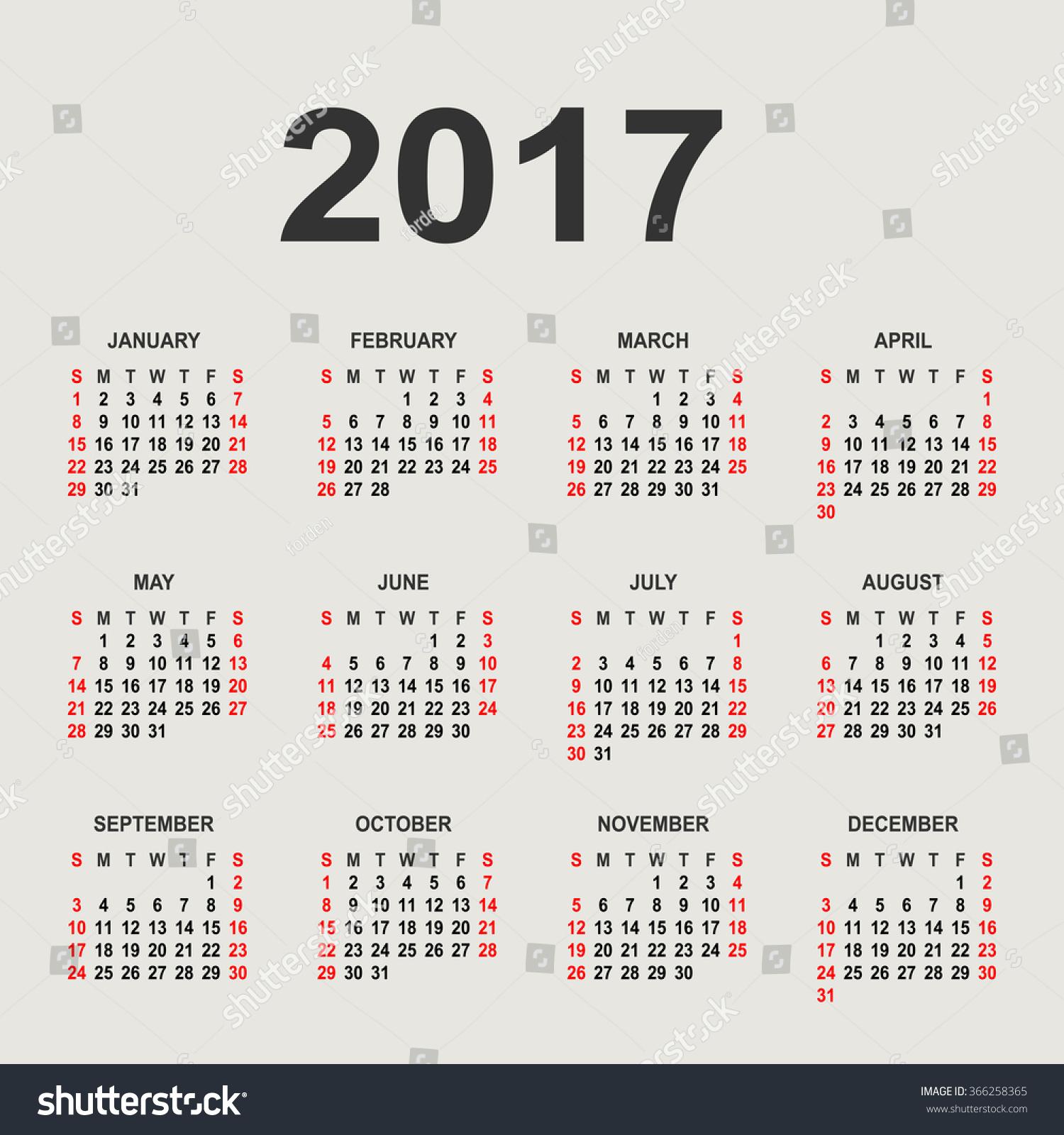 Calendar Background Vector : Calendar on grey background vector stock