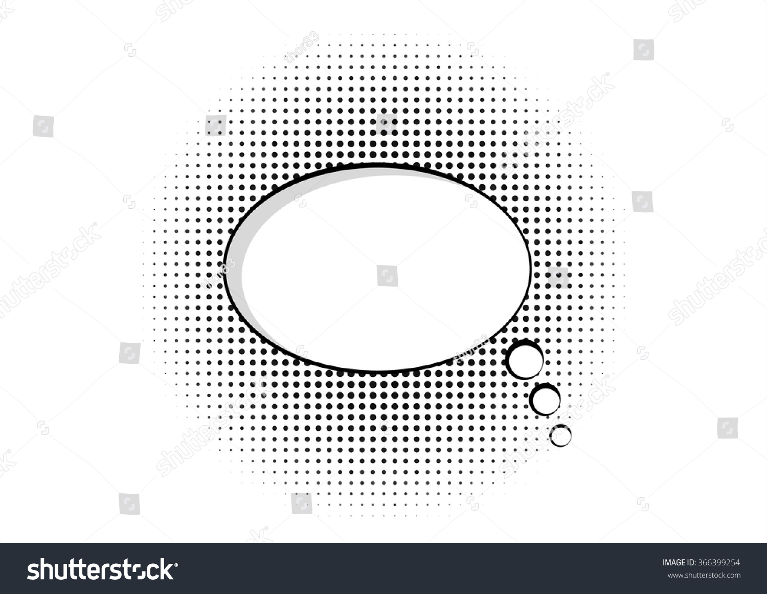 Cartoon speech pop art bubble halftone stock vector 366399254 cartoon speech pop art bubble halftone communication background vector empty cloud symbol with place for text biocorpaavc Gallery