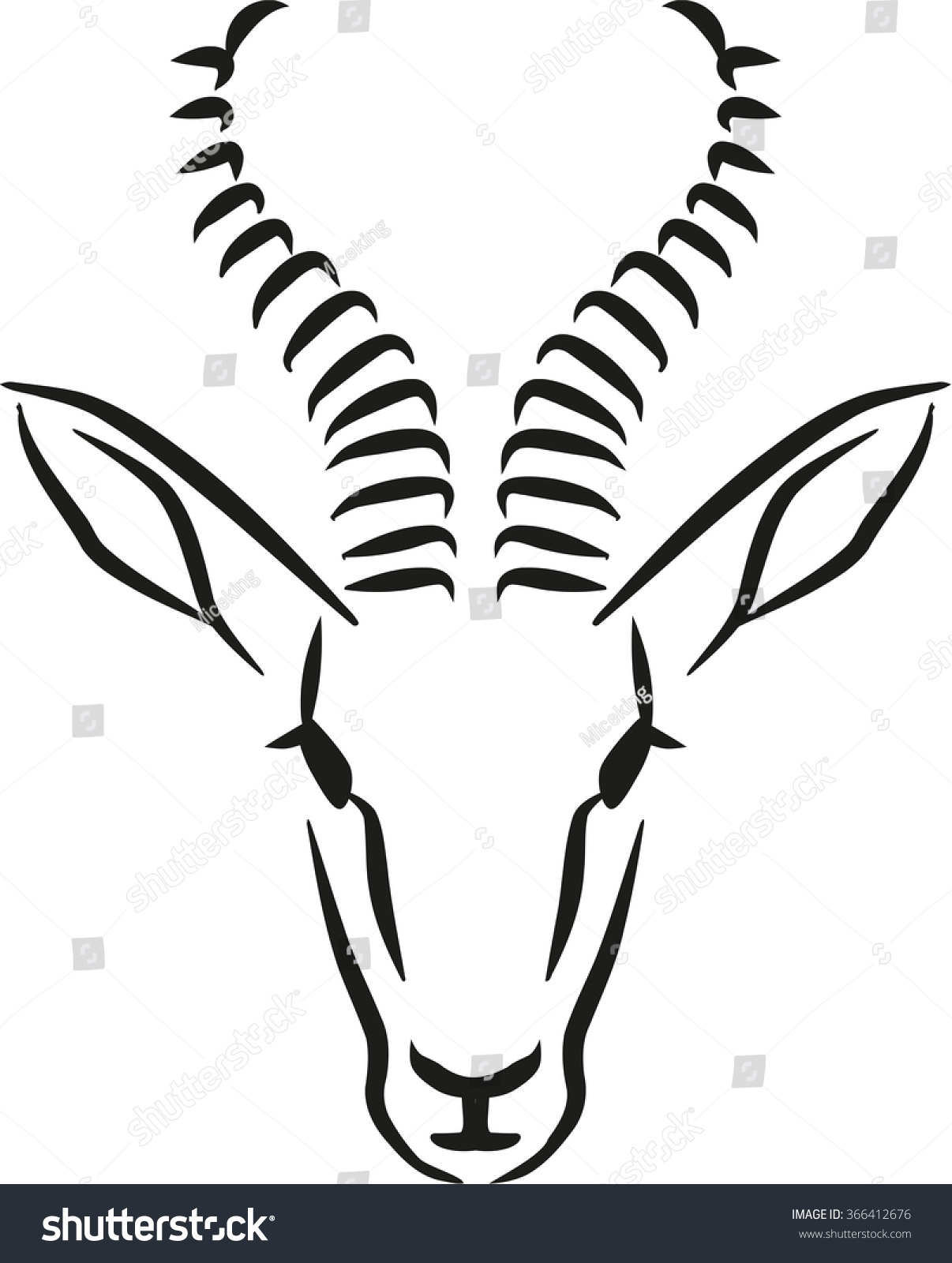 clipart springbok - photo #25