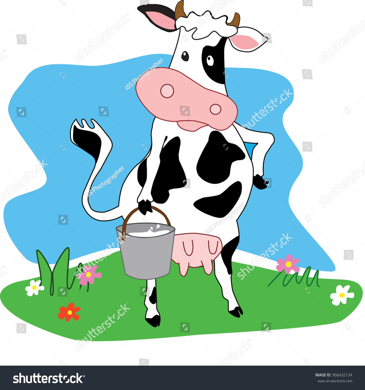 Image result for Image Milking a wooden cow