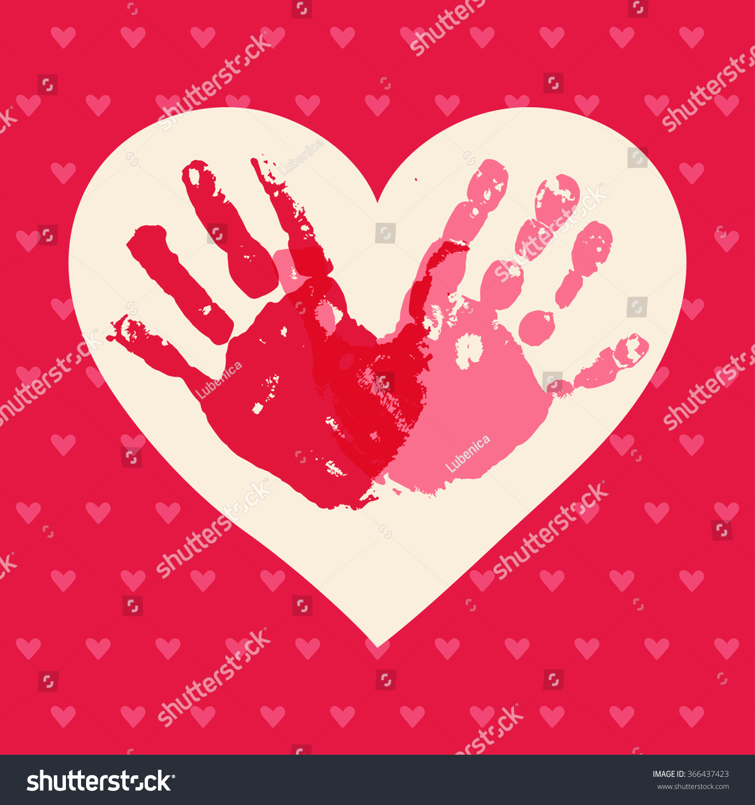 kids valentines day background