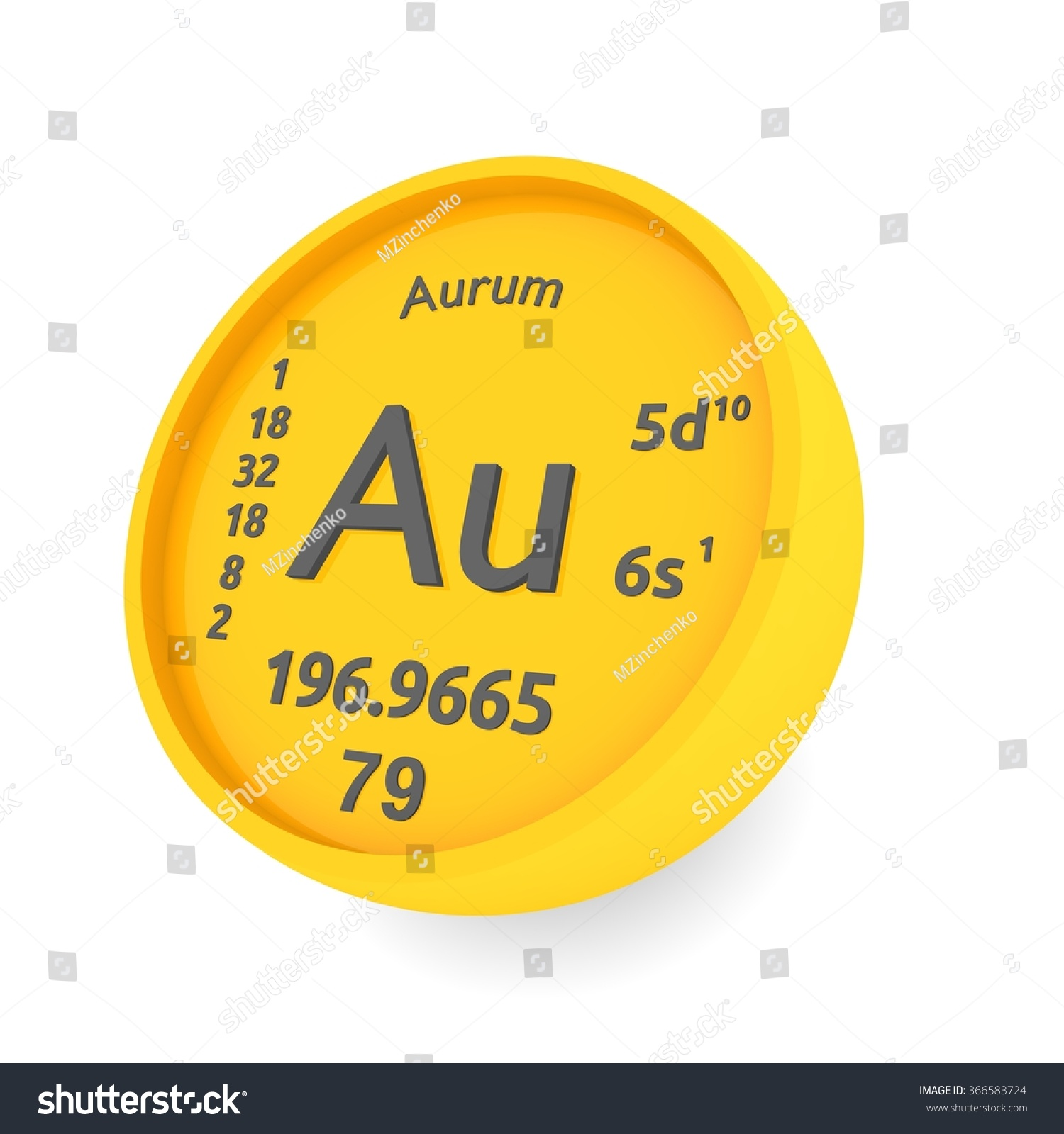 Aurum gold chemical element sign periodic stock illustration aurum or gold chemical element sign in periodic table gamestrikefo Image collections